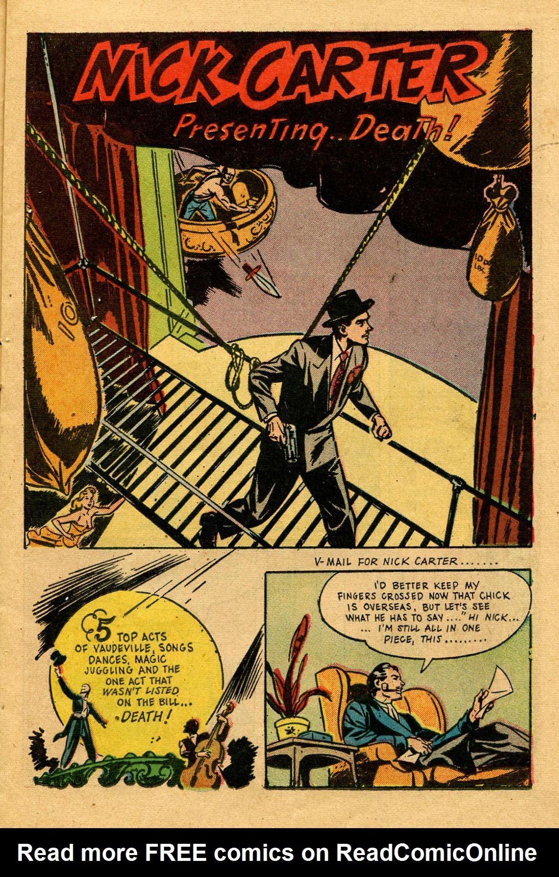 Read online Shadow Comics comic -  Issue #53 - 18