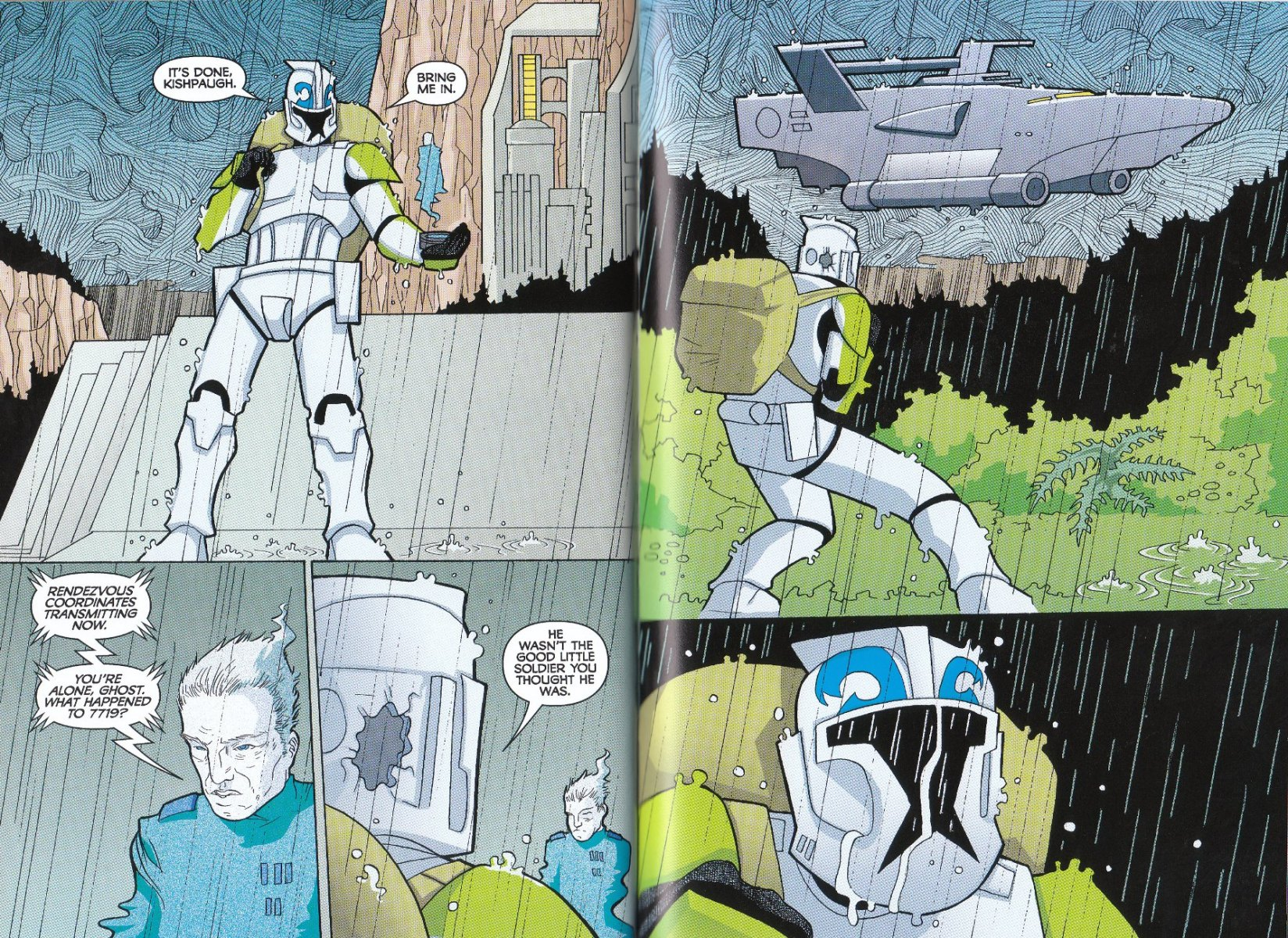 Read online Star Wars: The Clone Wars - The Enemy Within comic -  Issue # Full - 35