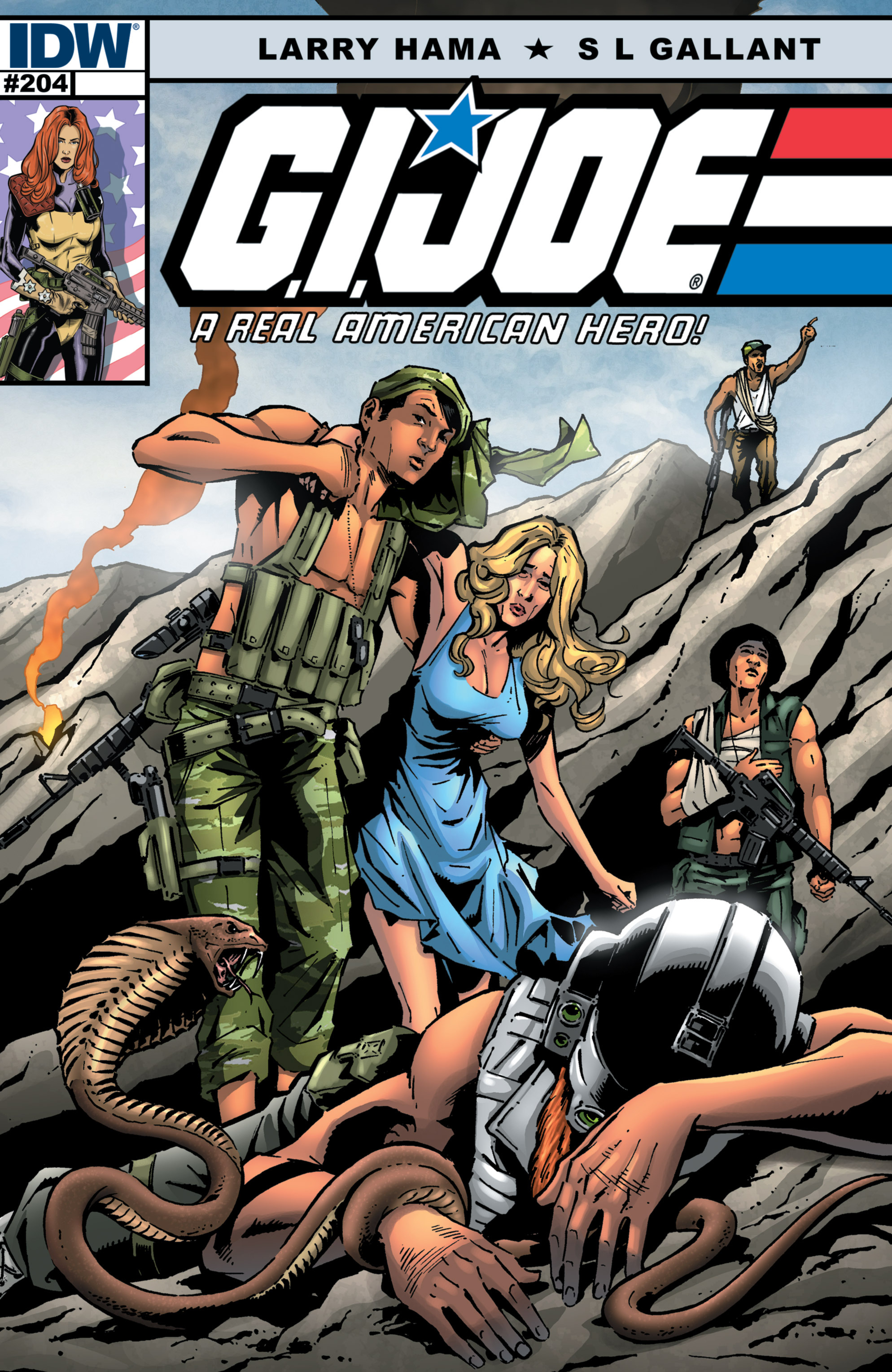 G.I. Joe: A Real American Hero 204 Page 1