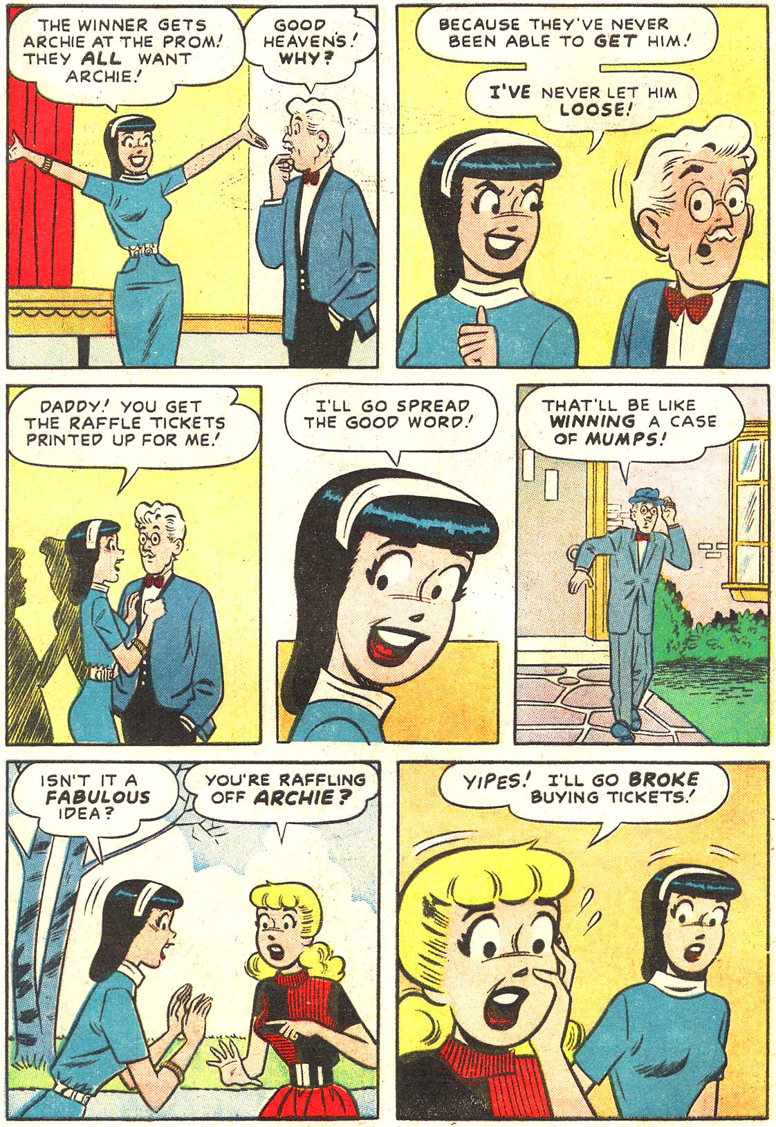 Read online Archie's Girls Betty and Veronica comic -  Issue #54 - 16
