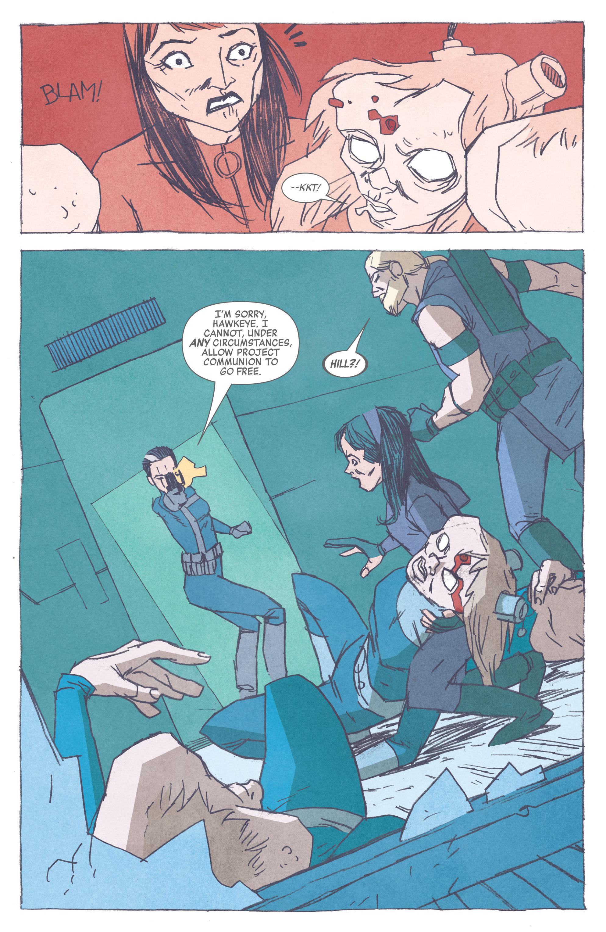 Read online All-New Hawkeye (2016) comic -  Issue #3 - 13