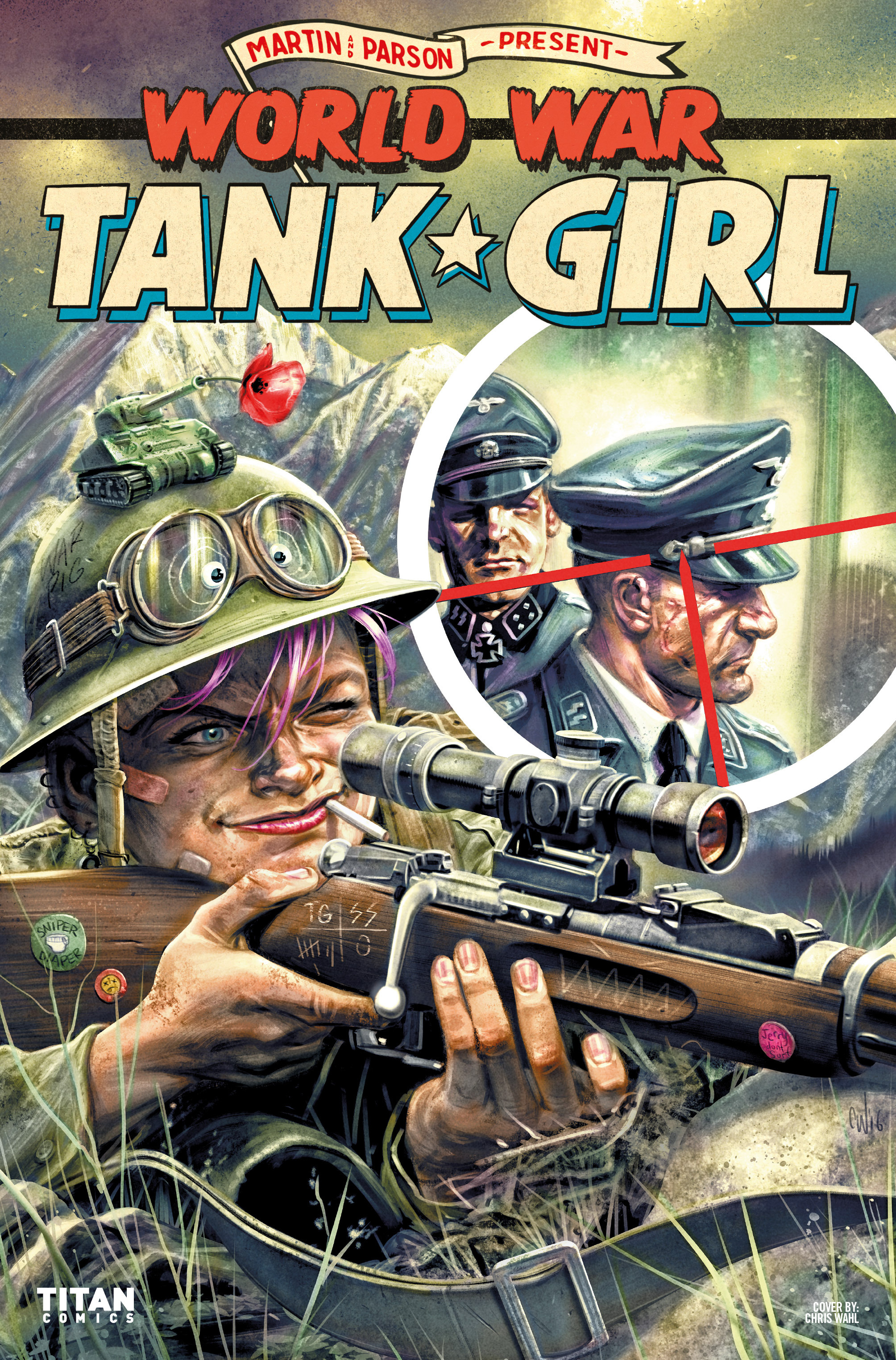 Read online Tank Girl: World War Tank Girl comic -  Issue #2 - 26