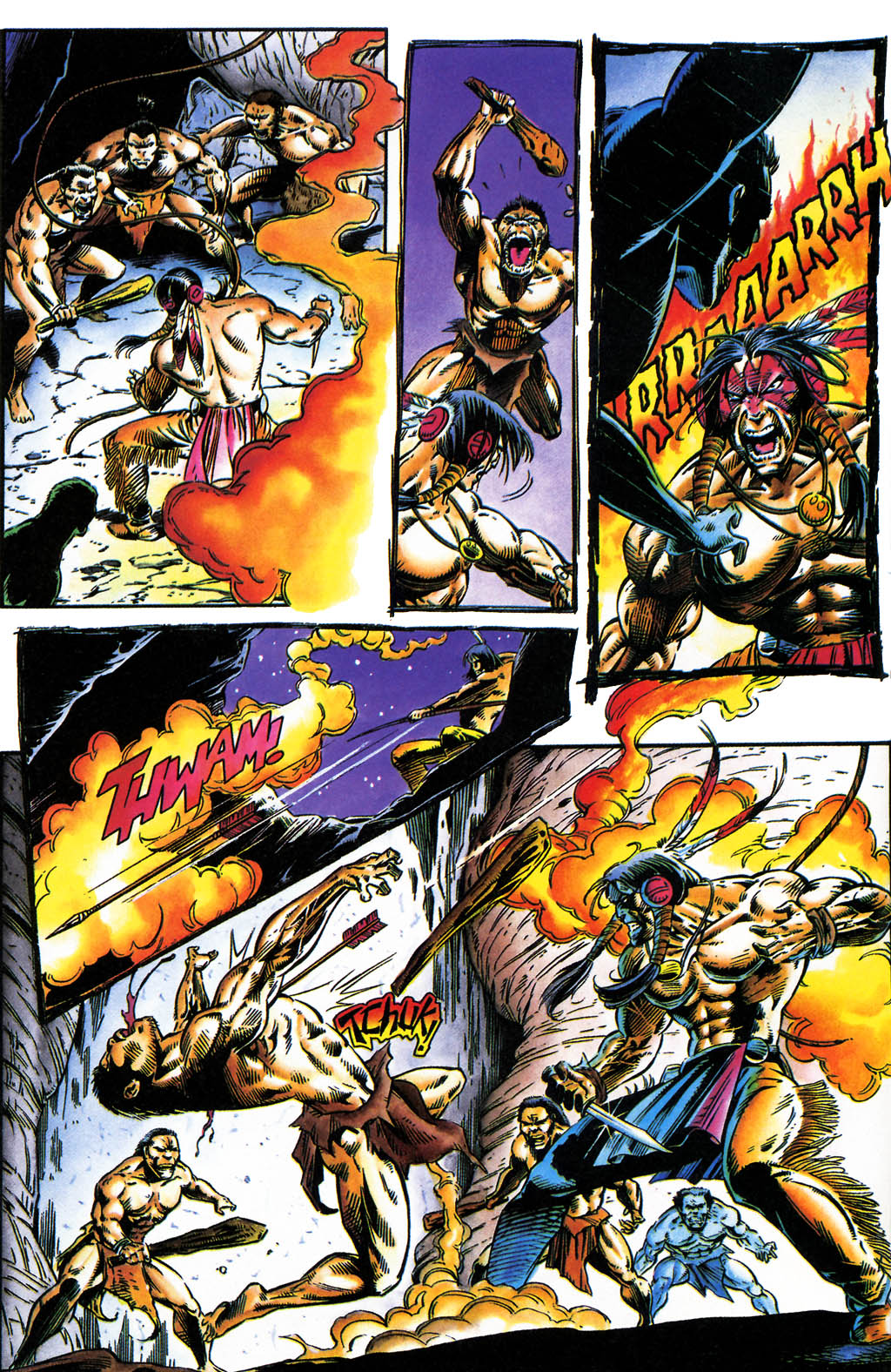 Read online Turok, Dinosaur Hunter (1993) comic -  Issue #35 - 4