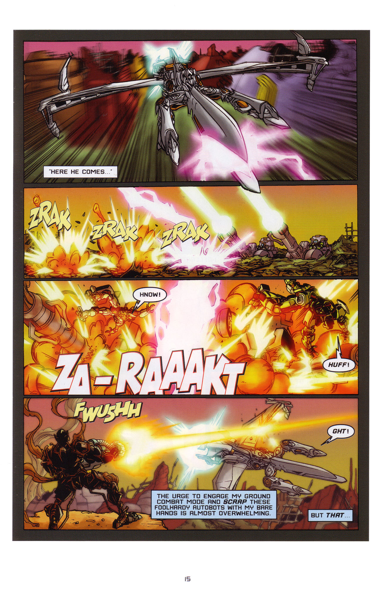 Read online Transformers: Saga of the Allspark comic -  Issue #1 - 16