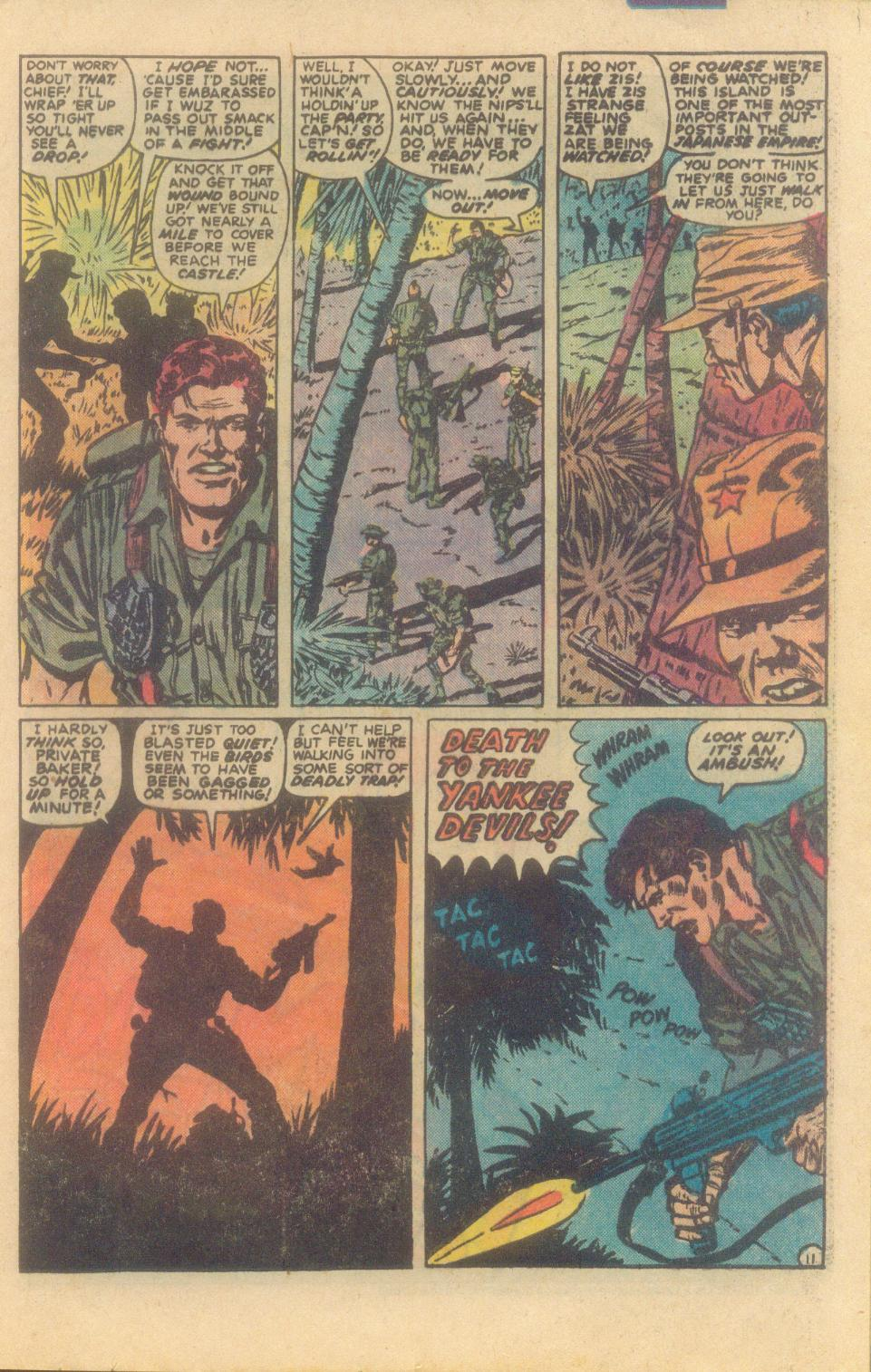 Read online Sgt. Fury comic -  Issue #160 - 21