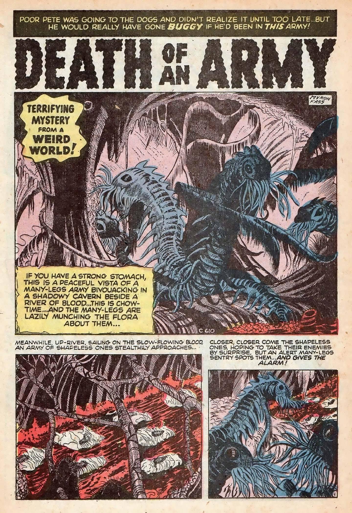 Read online Adventures into Weird Worlds comic -  Issue #20 - 20