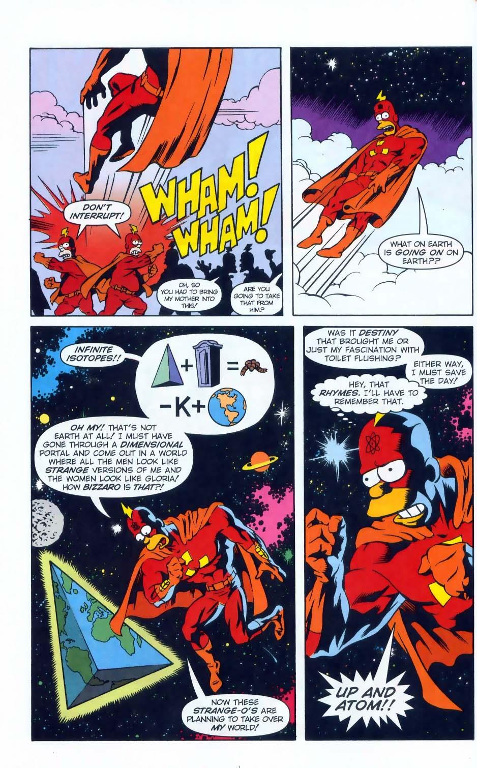 Read online Simpsons Comics comic -  Issue #50 - 61