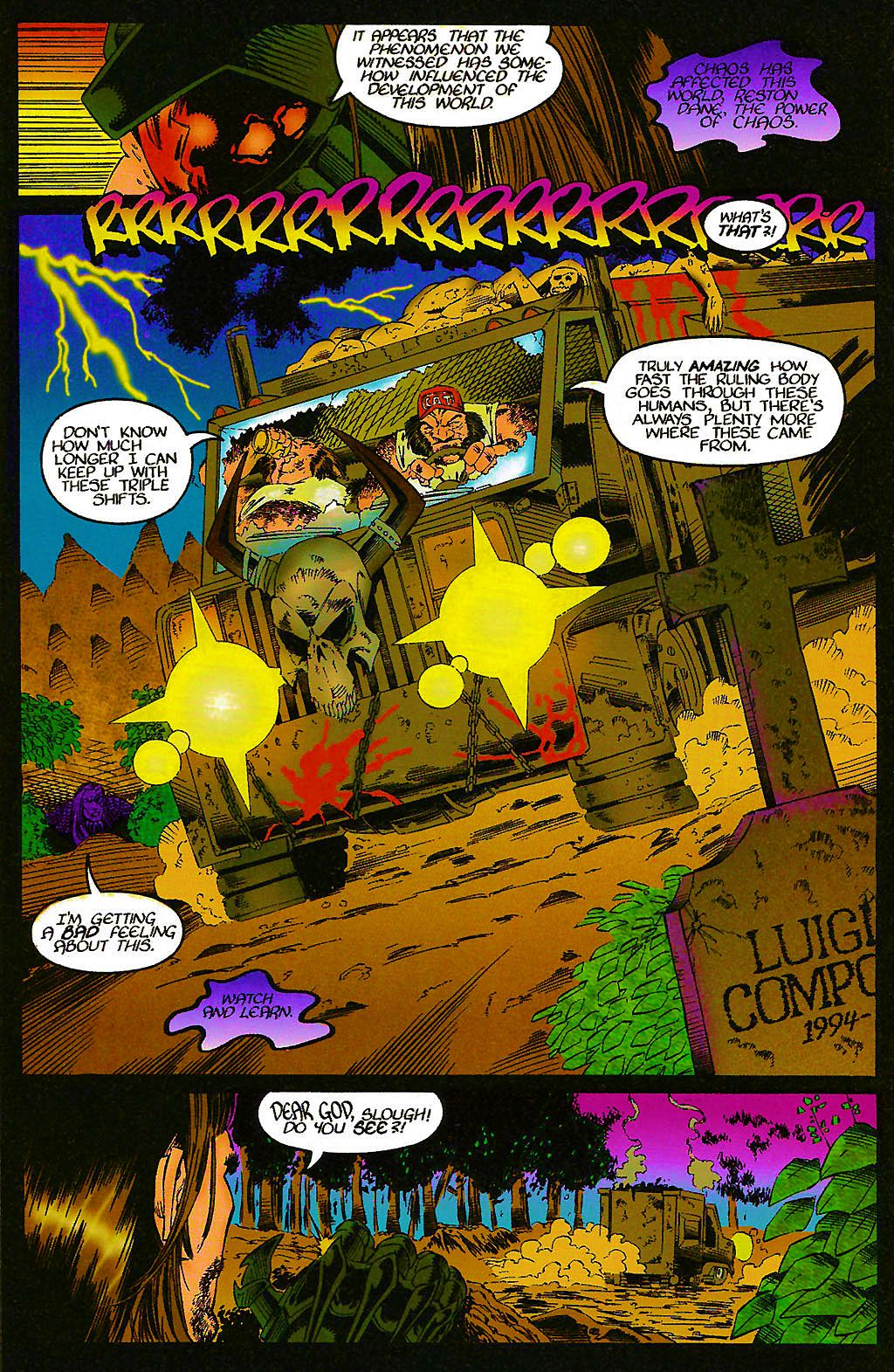 Read online Chains of Chaos comic -  Issue #1 - 16
