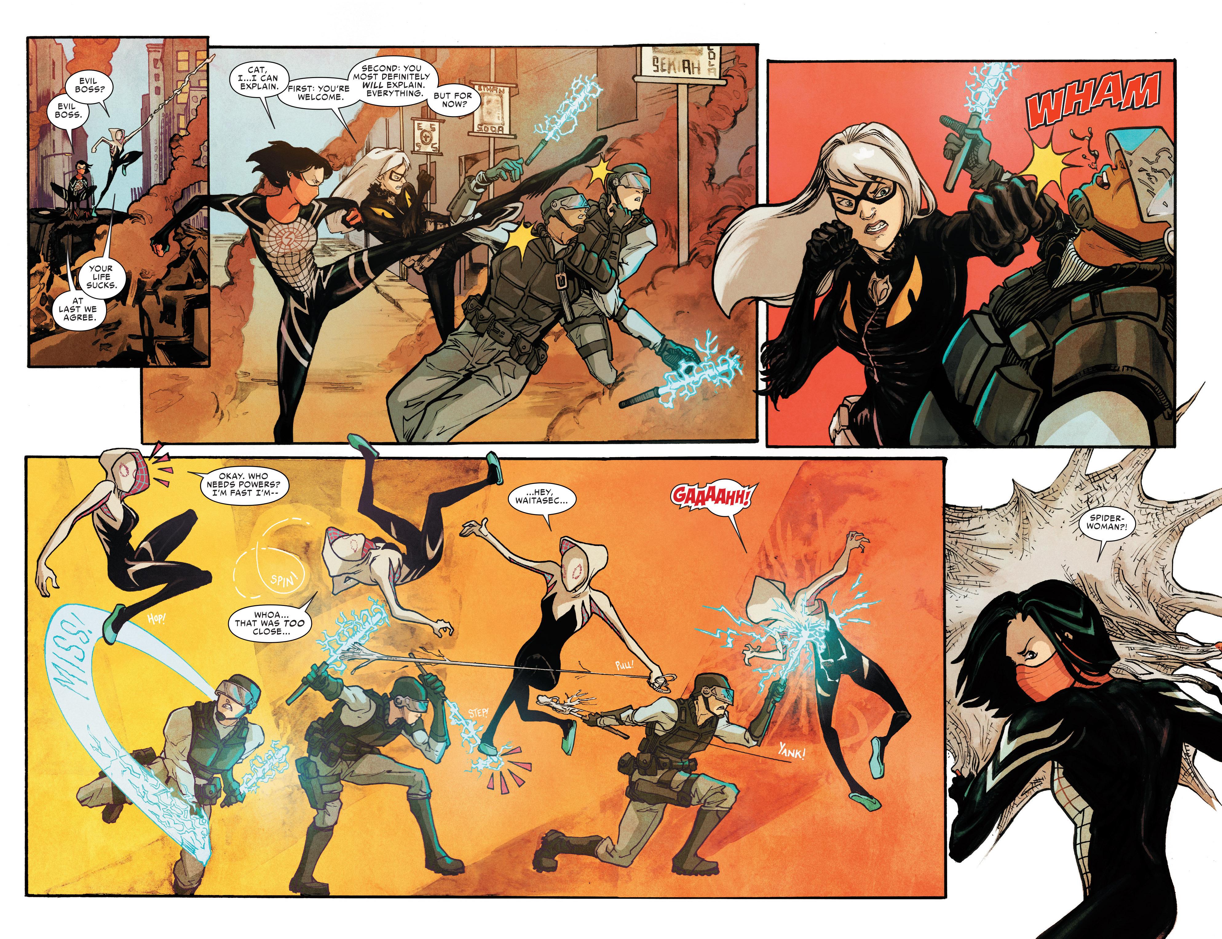 Read online Silk (2016) comic -  Issue #8 - 15