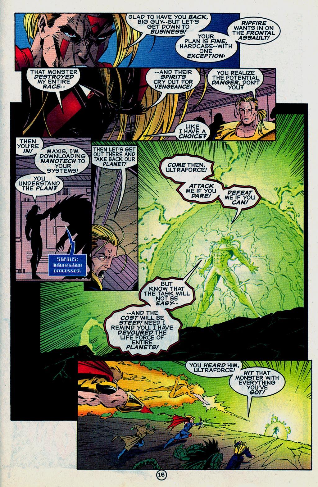 Read online UltraForce (1995) comic -  Issue #15 - 17
