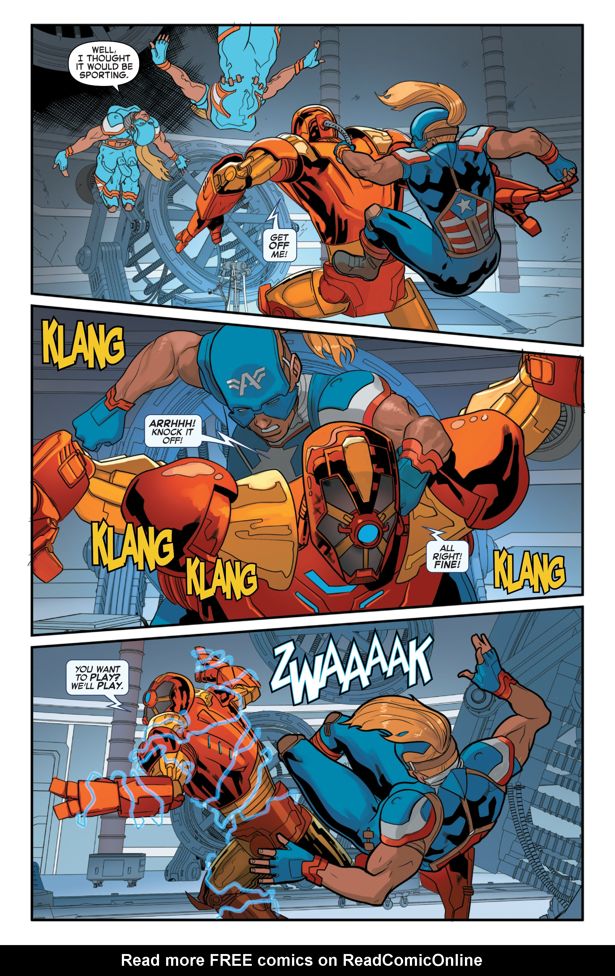 Read online Secret Wars 2099 comic -  Issue #4 - 18