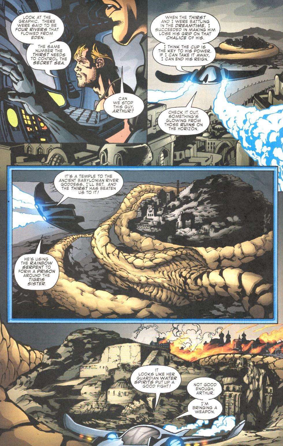 Read online Aquaman (2003) comic -  Issue #11 - 8