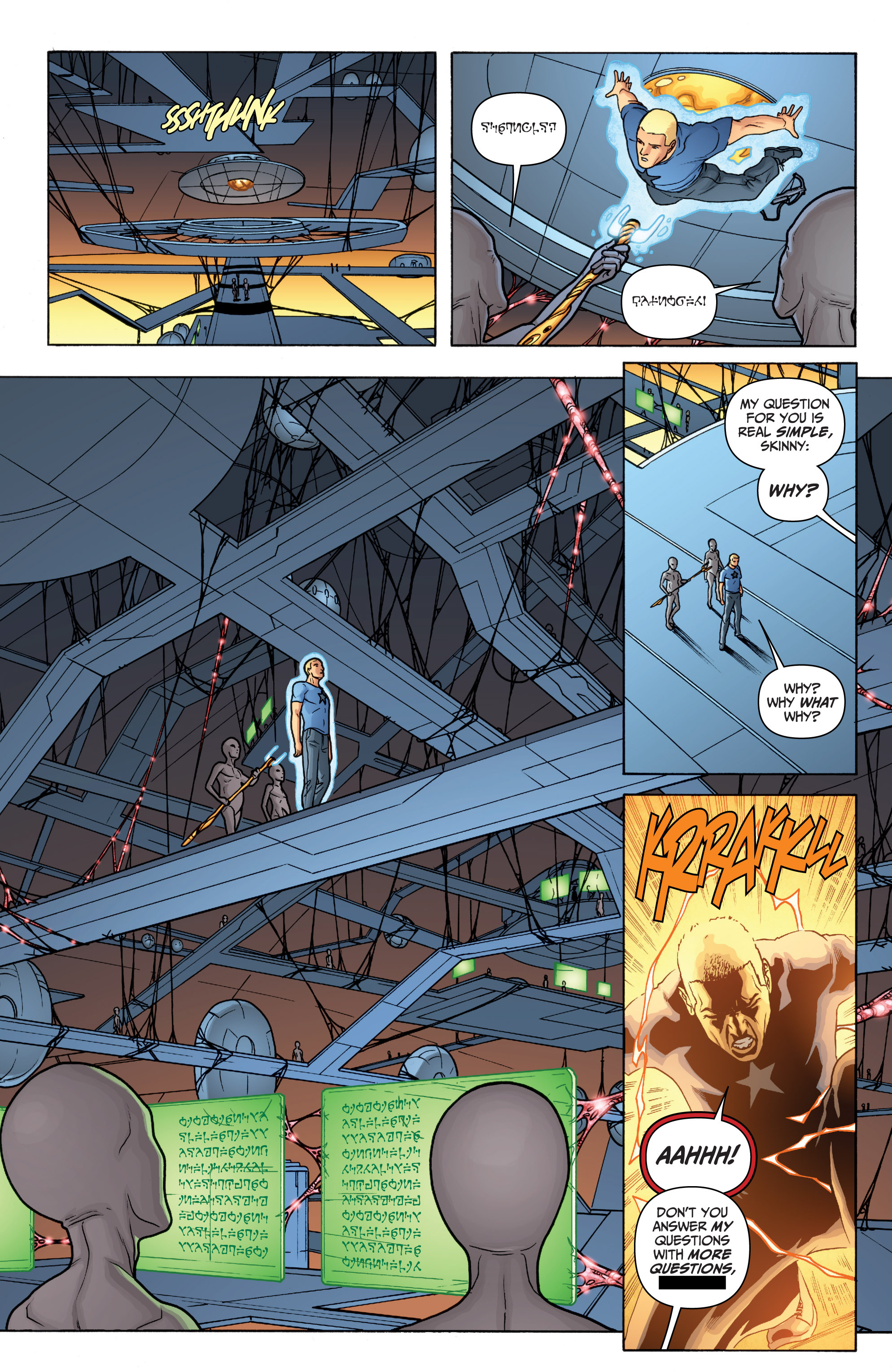 Read online Archer and Armstrong comic -  Issue #11 - 11