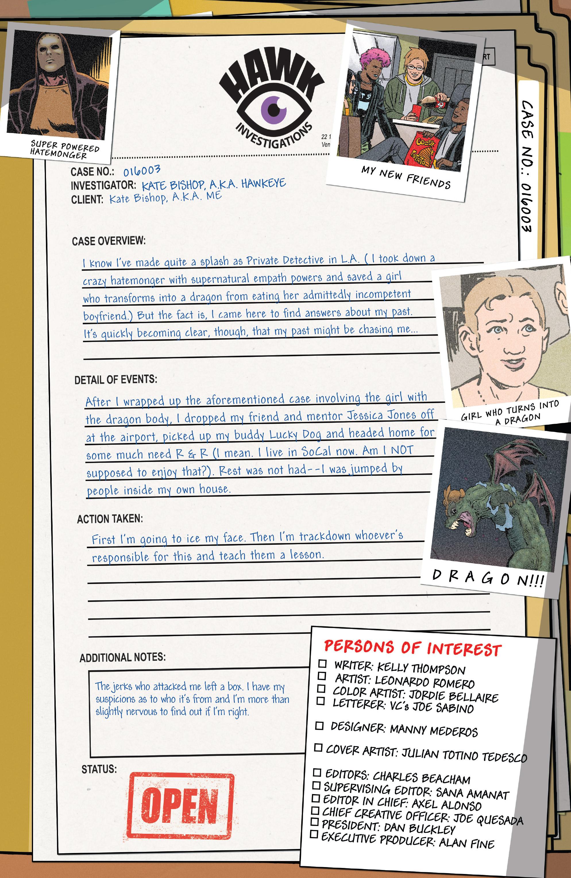Read online Hawkeye (2016) comic -  Issue #7 - 2