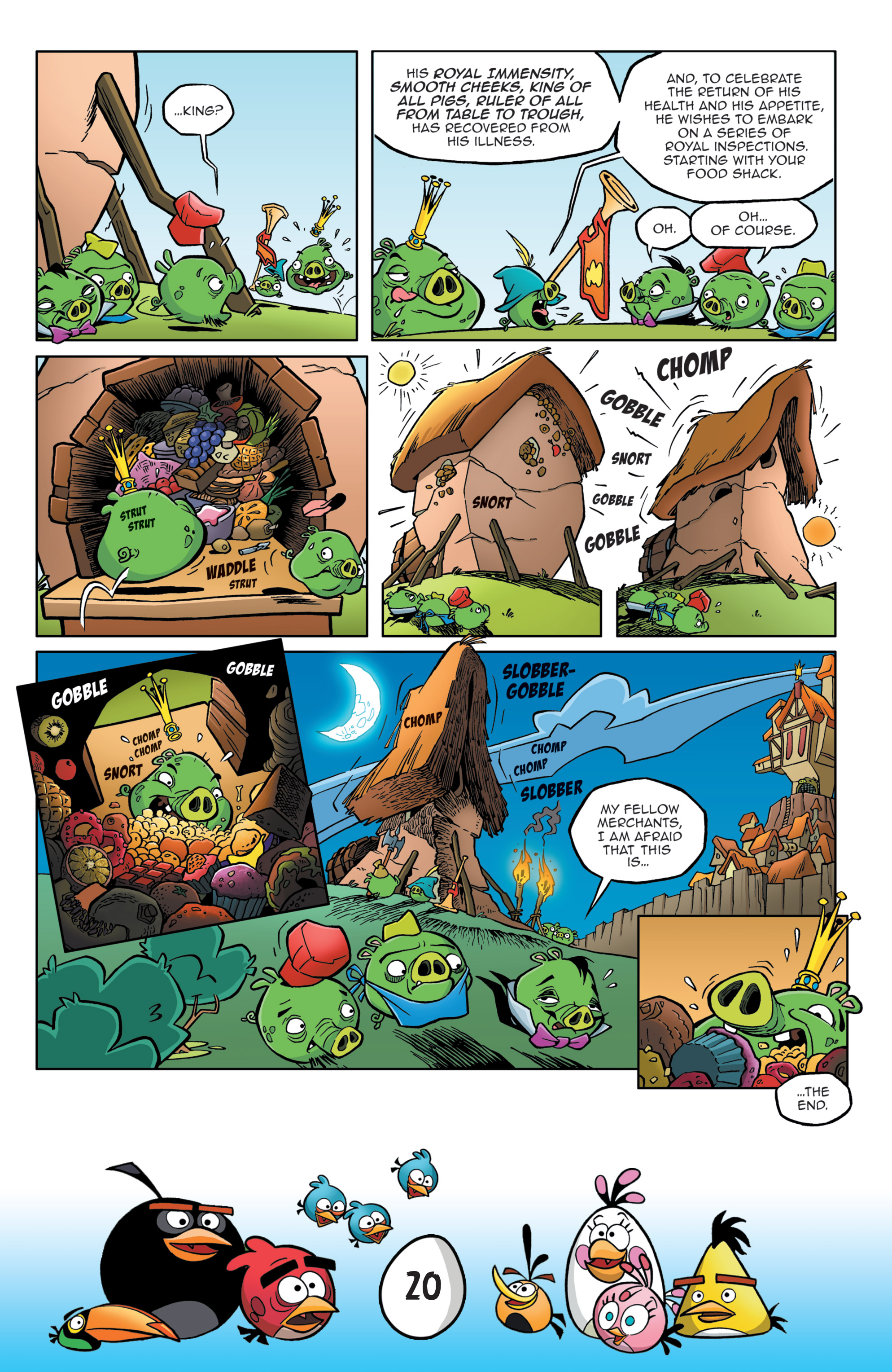 Read online Angry Birds Comics: Game Play comic -  Issue #3 - 22