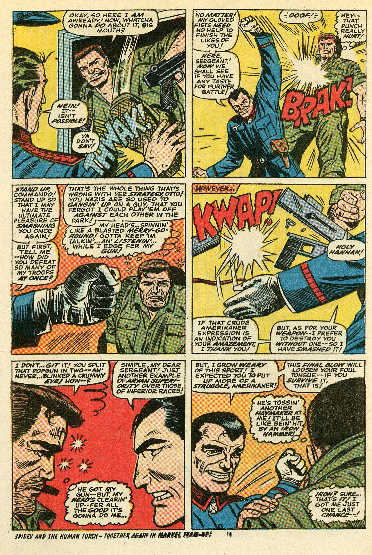 Read online Sgt. Fury comic -  Issue #111 - 20