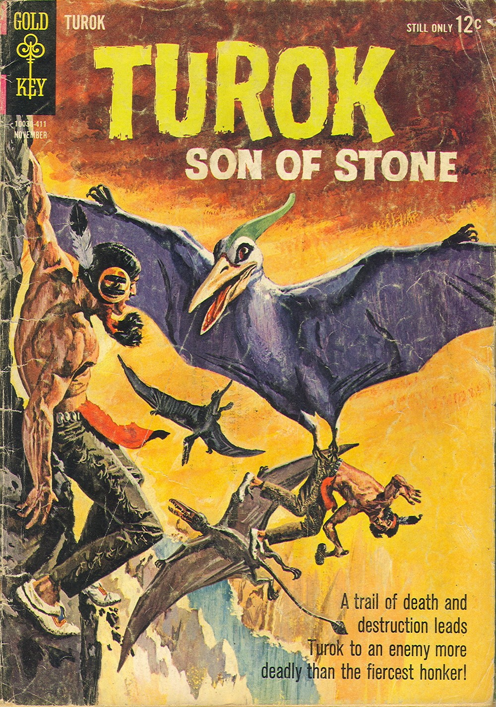 Read online Turok, Son of Stone comic -  Issue #42 - 1
