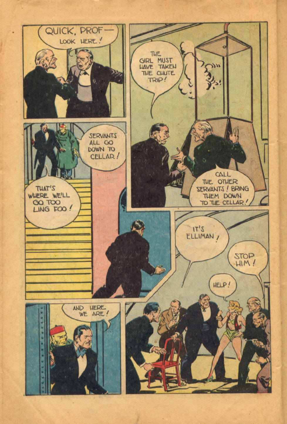Read online Super-Magician Comics comic -  Issue #52 - 15