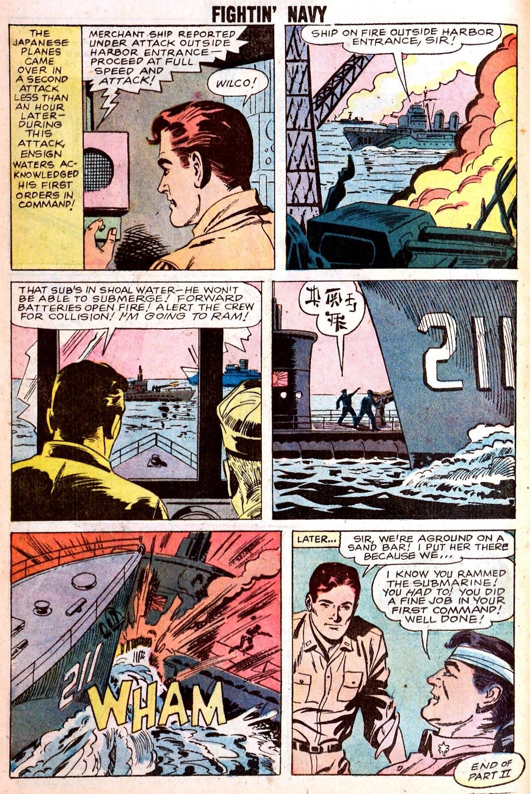 Read online Fightin' Navy comic -  Issue #85 - 12