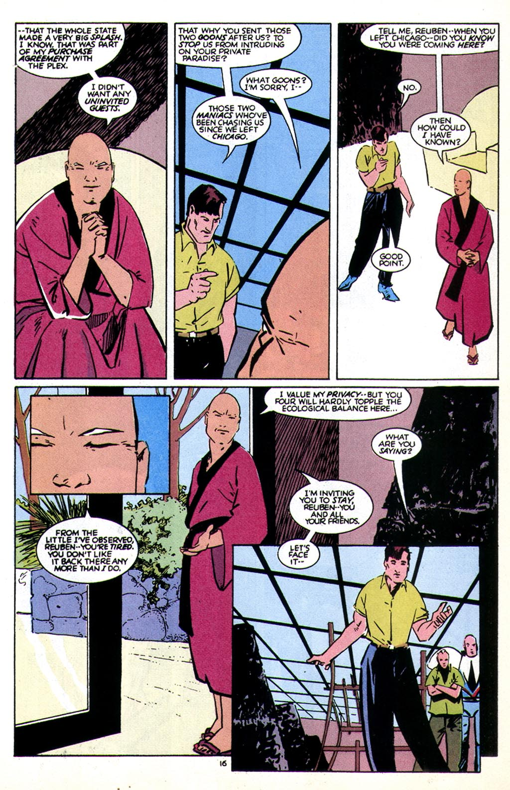 Read online American Flagg! comic -  Issue #43 - 20