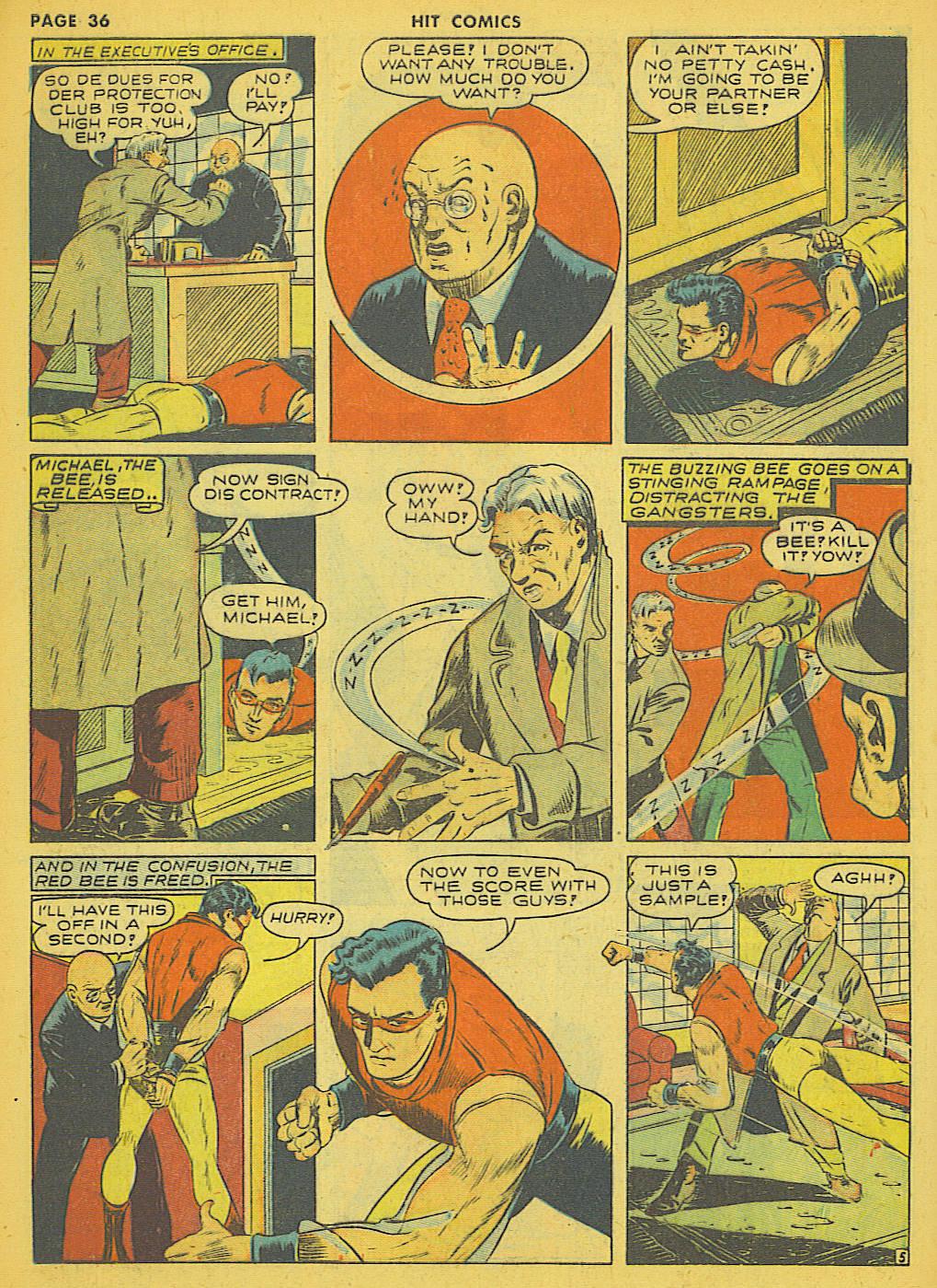 Read online Hit Comics comic -  Issue #21 - 38