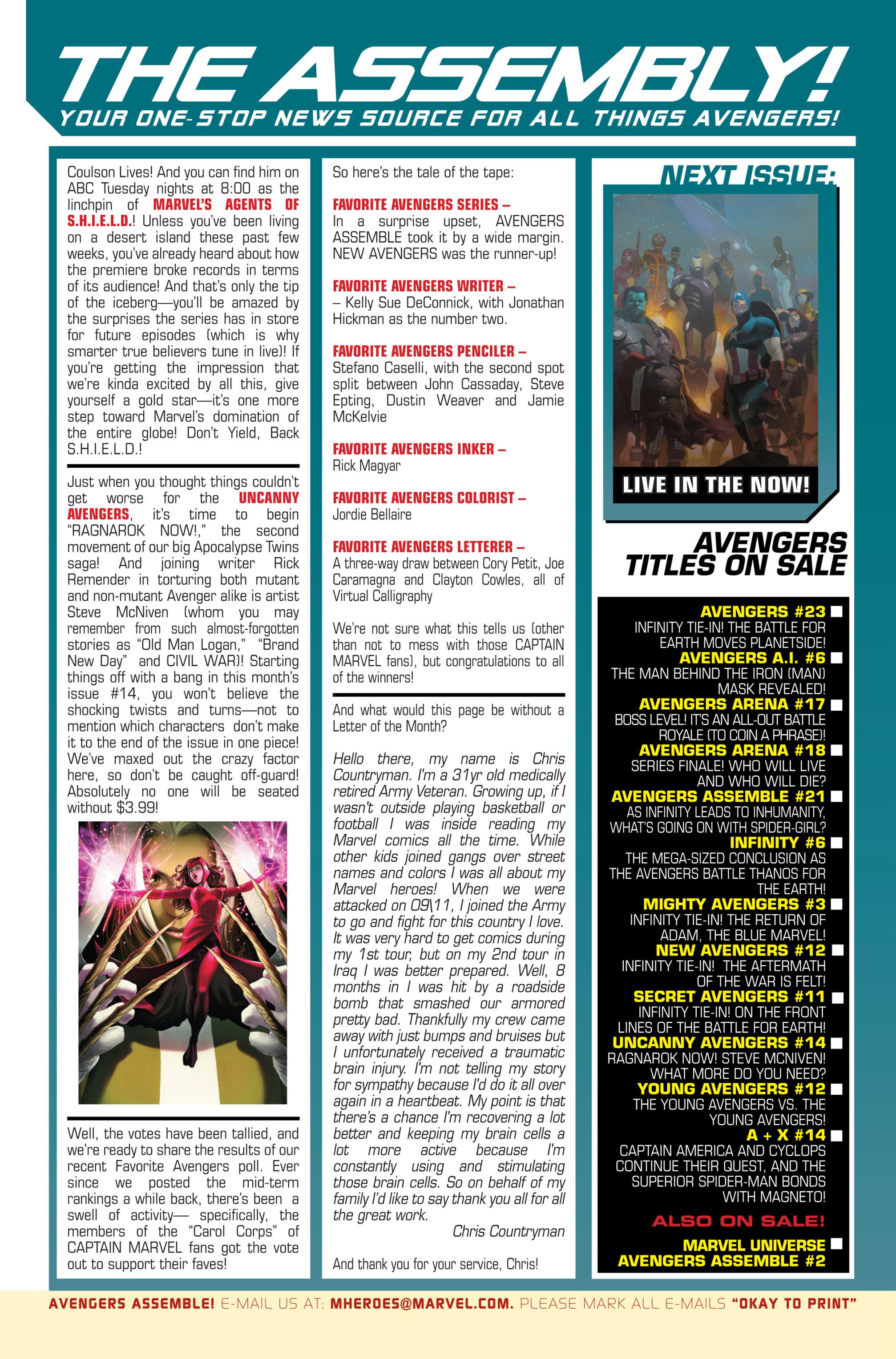 Read online Avengers (2013) comic -  Issue #Avengers (2013) _TPB 4 - 178