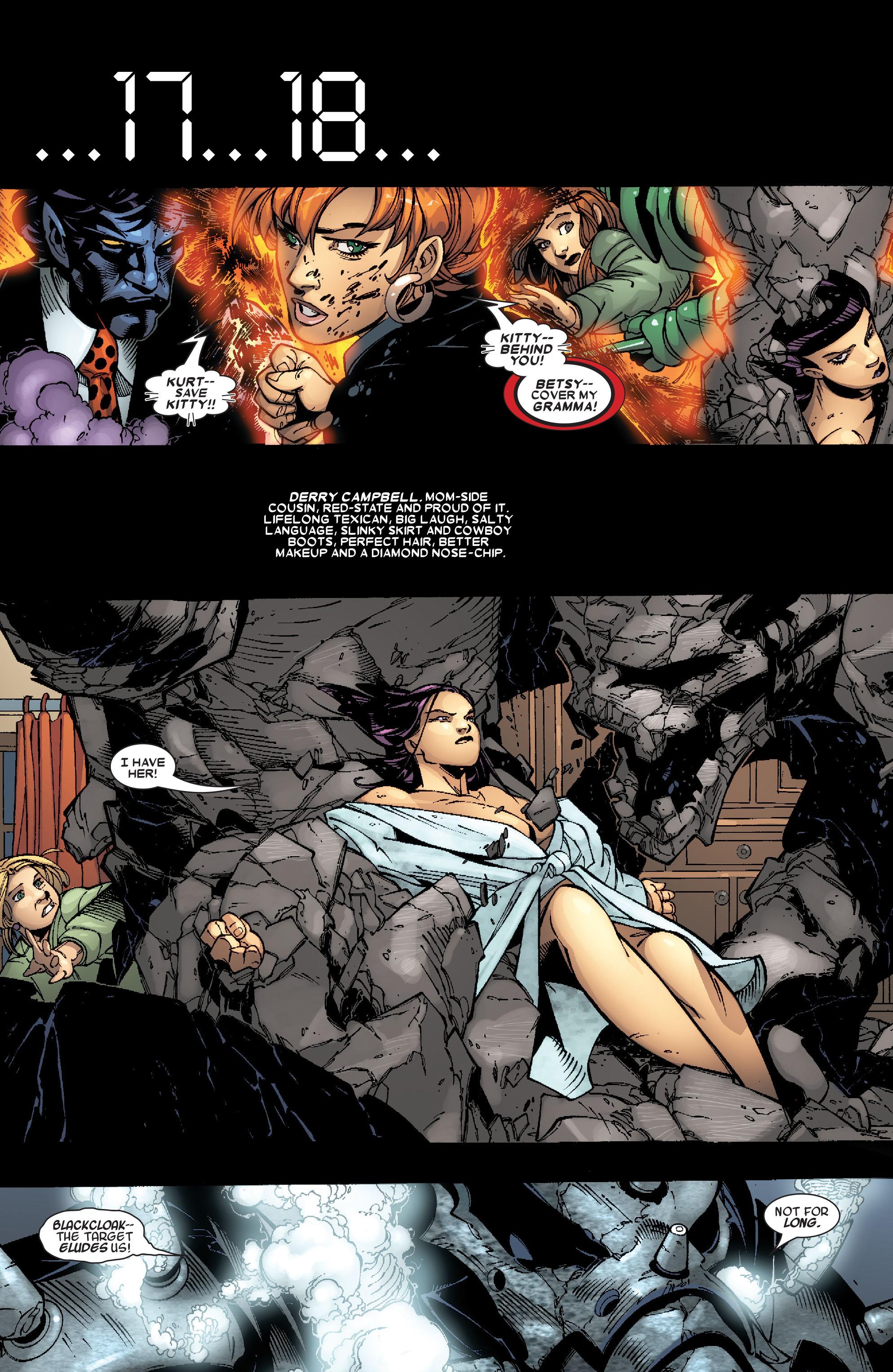 Read online Uncanny X-Men (1963) comic -  Issue #467 - 15