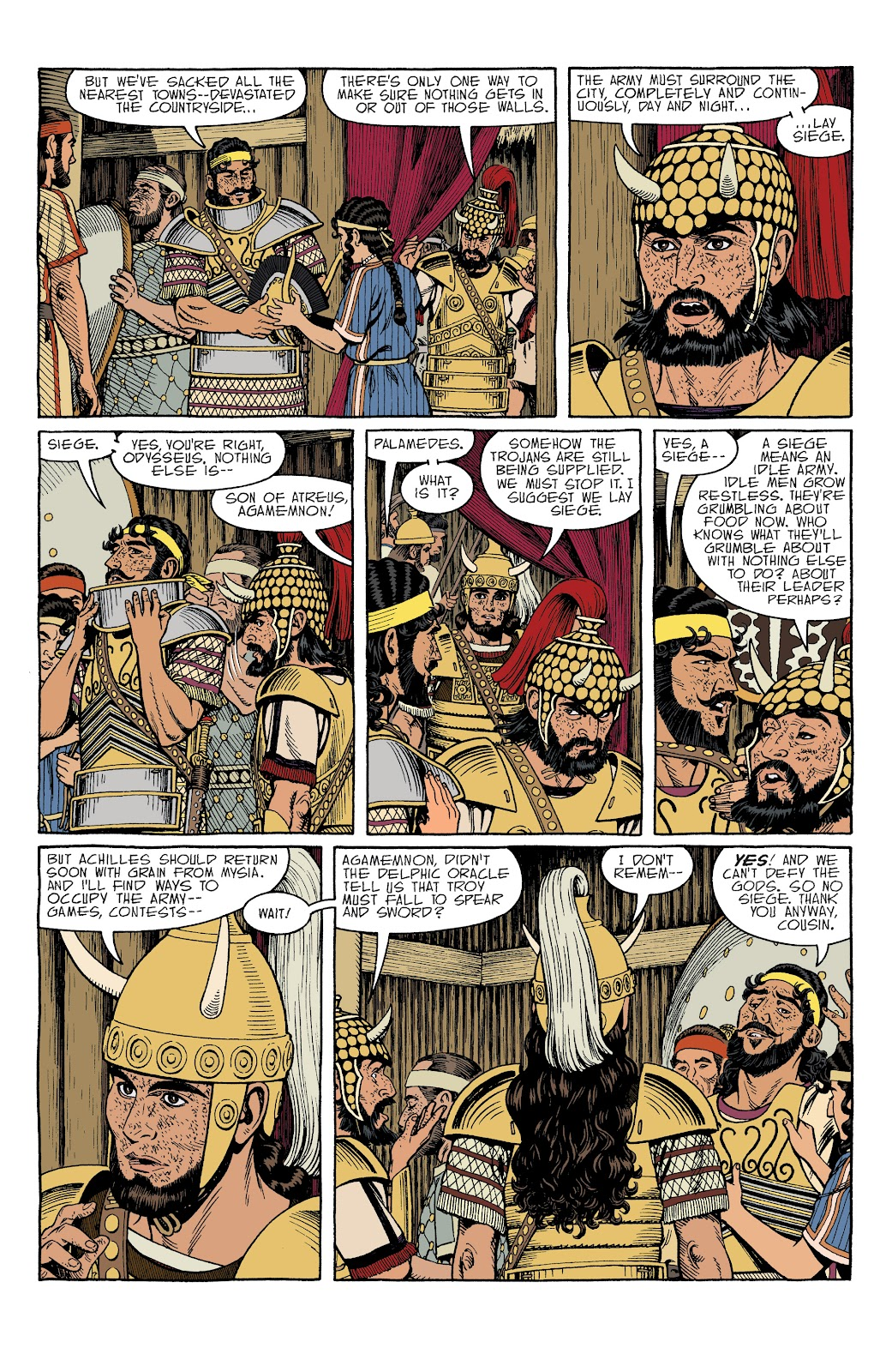 Read online Age of Bronze comic -  Issue #34 - 4