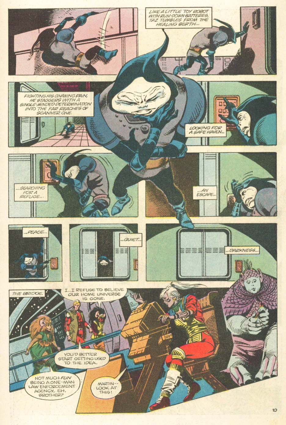 Read online Atari Force (1984) comic -  Issue #15 - 12
