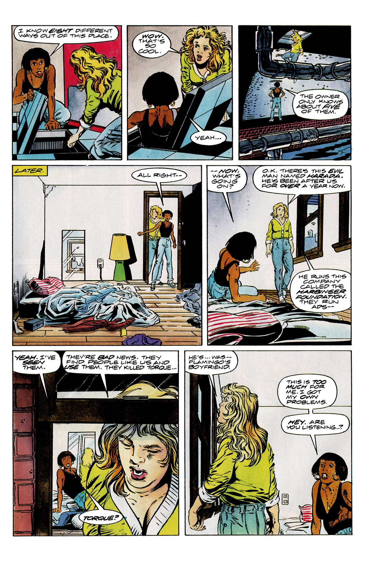 Read online Harbinger (1992) comic -  Issue #11 - 10