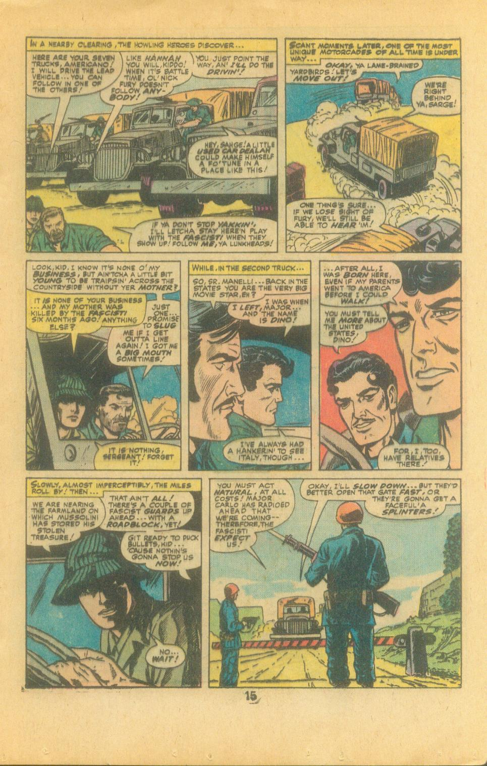 Read online Sgt. Fury comic -  Issue #132 - 17