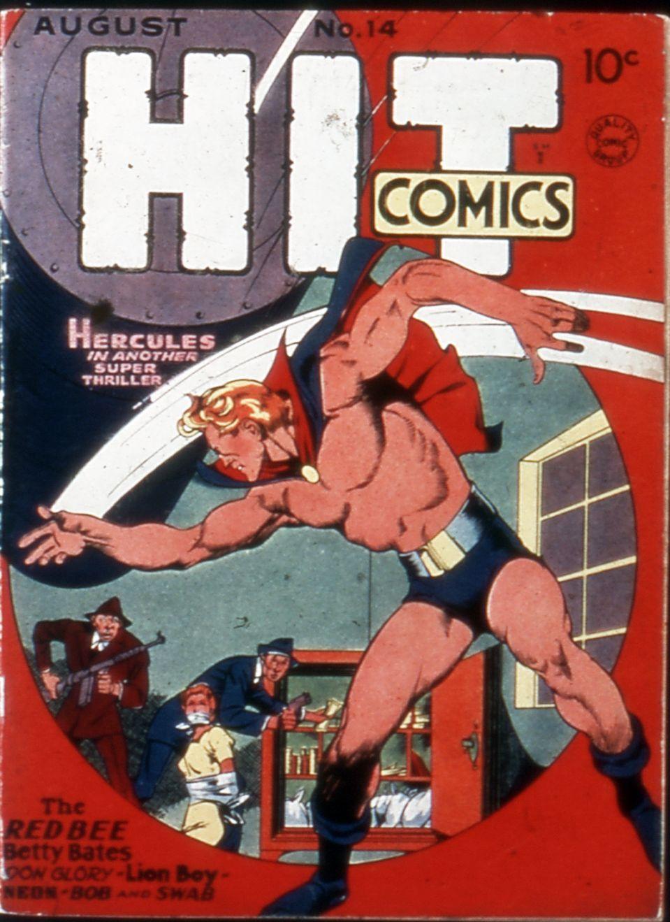 Read online Hit Comics comic -  Issue #14 - 1