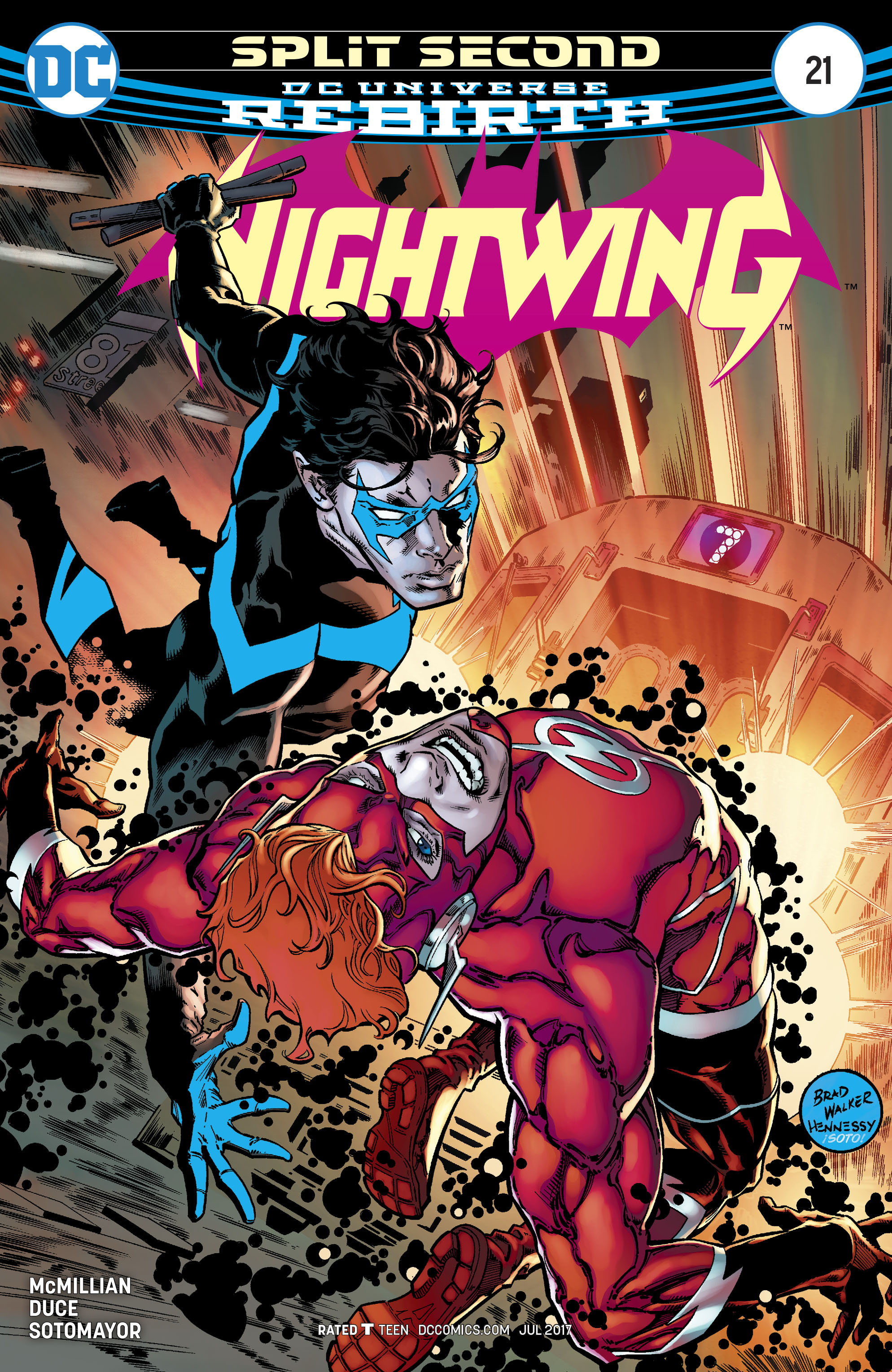 Read online Nightwing (2016) comic -  Issue #21 - 1