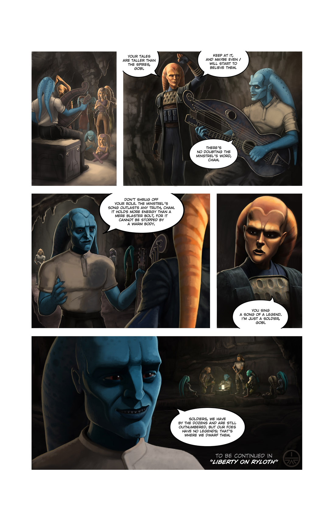 Read online Star Wars: Tales From The Clone Wars comic -  Issue # TPB - 141