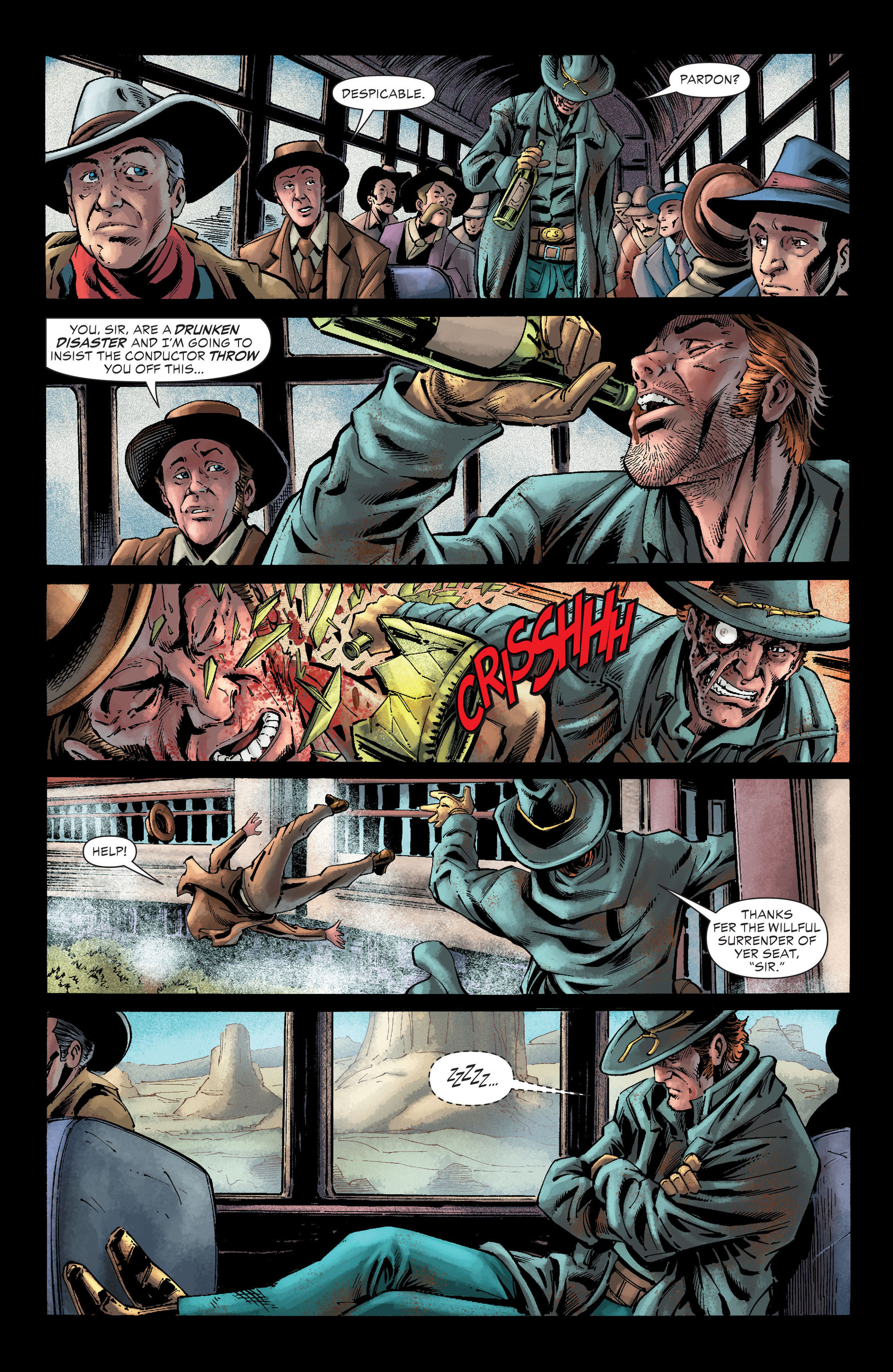 Read online All-Star Western (2011) comic -  Issue #26 - 7