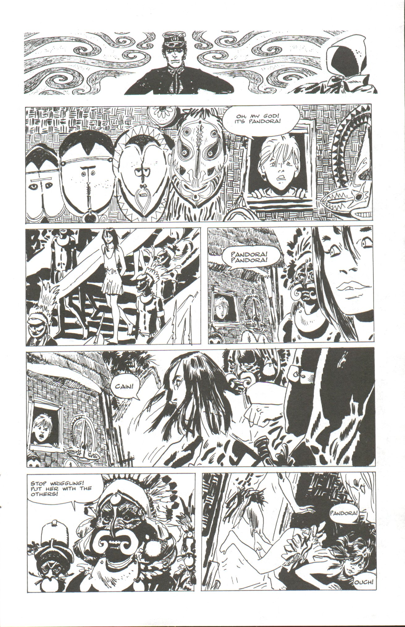 Read online Corto Maltese: Ballad of the Salt Sea comic -  Issue #2 - 13