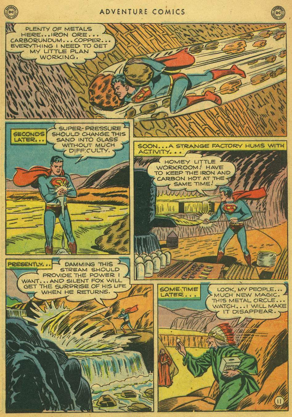 Read online Adventure Comics (1938) comic -  Issue #164 - 13