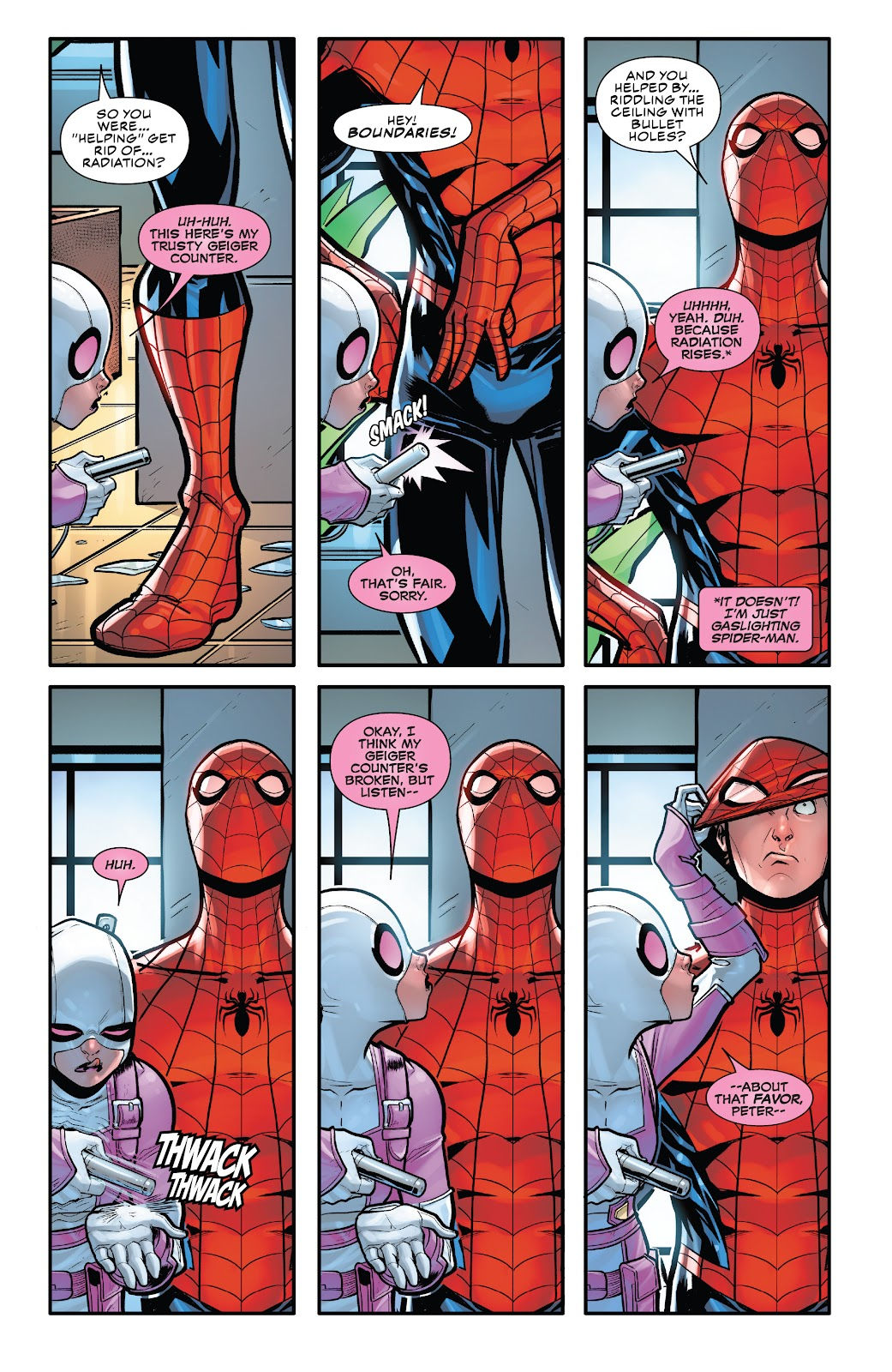Gwenpool Strikes Back issue 1 - Page 9