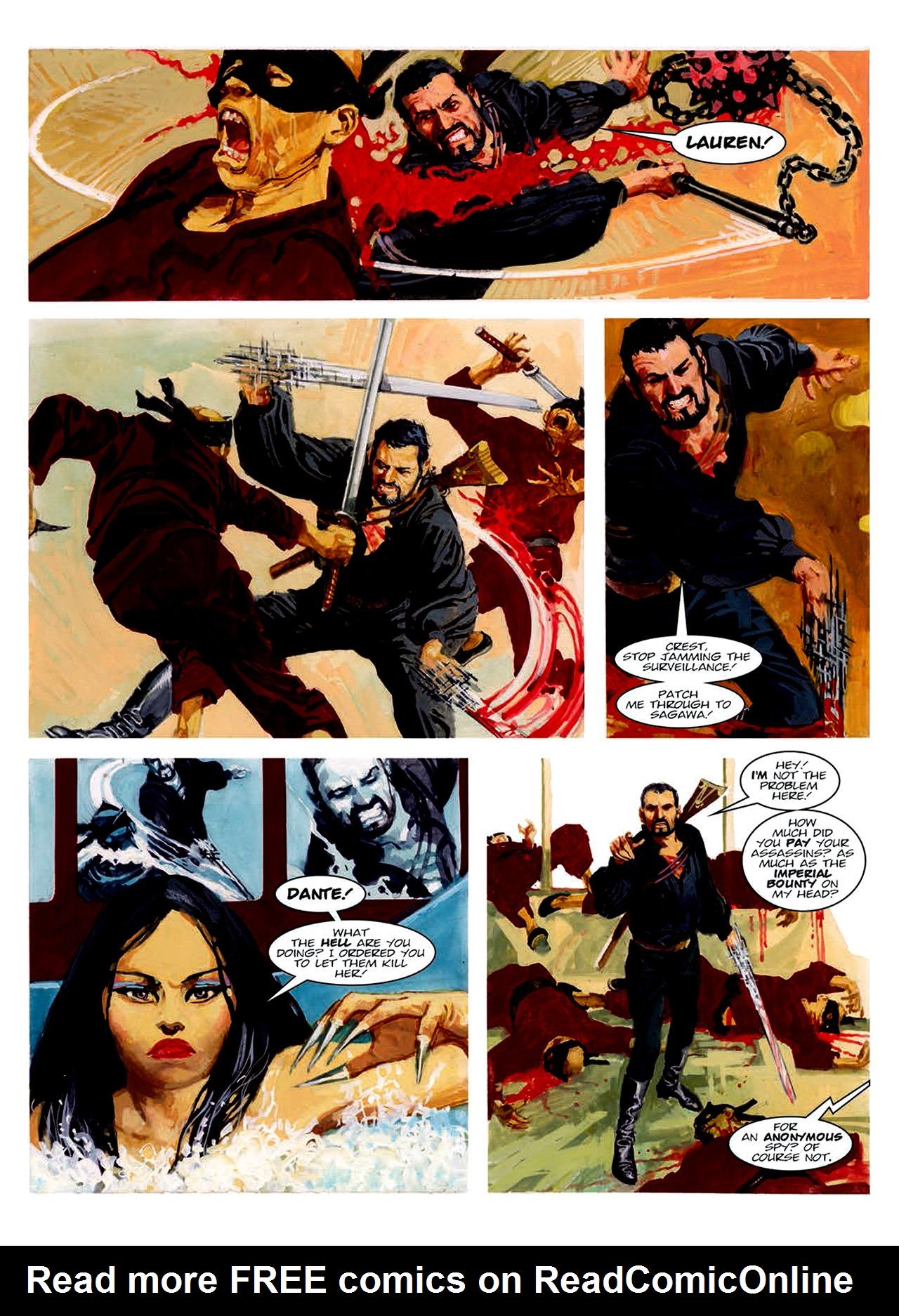 Read online Nikolai Dante comic -  Issue # TPB 6 - 166