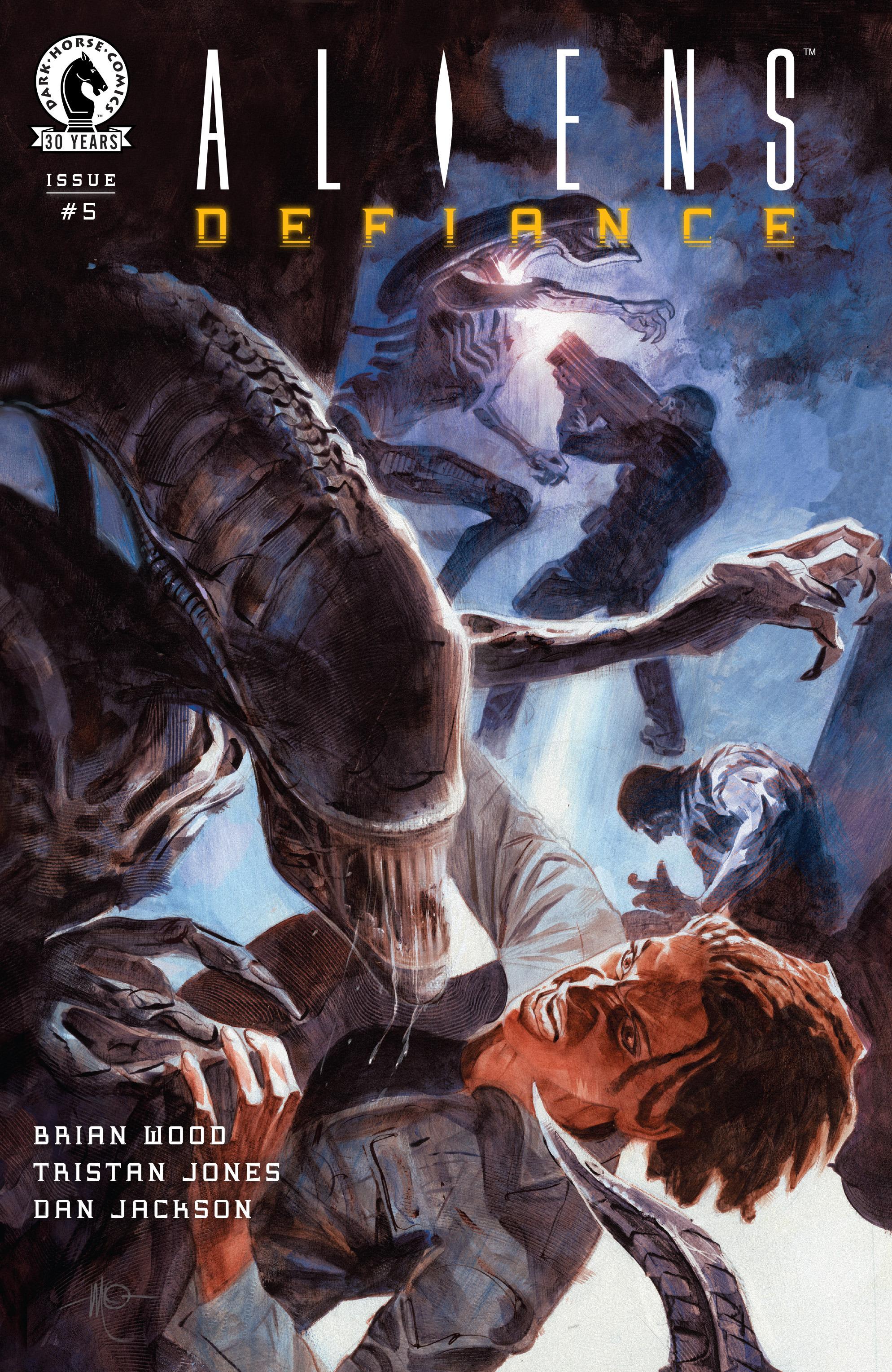 Read online Aliens: Defiance comic -  Issue #5 - 1