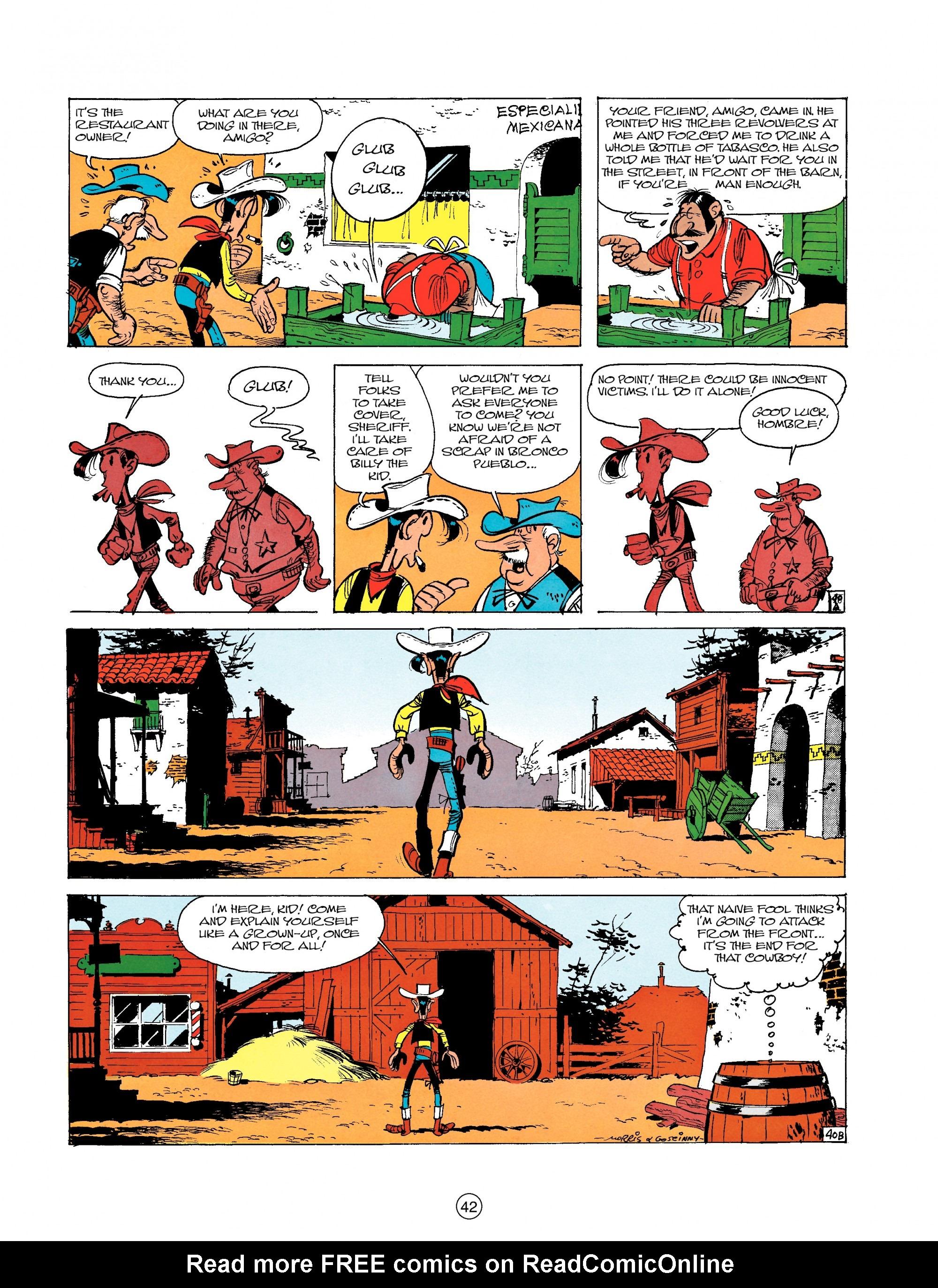 Read online A Lucky Luke Adventure comic -  Issue #18 - 42
