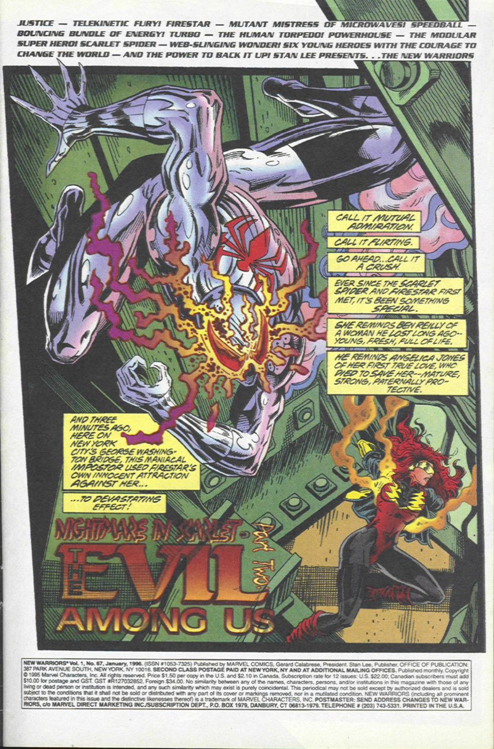 The New Warriors Issue #67 #71 - English 2