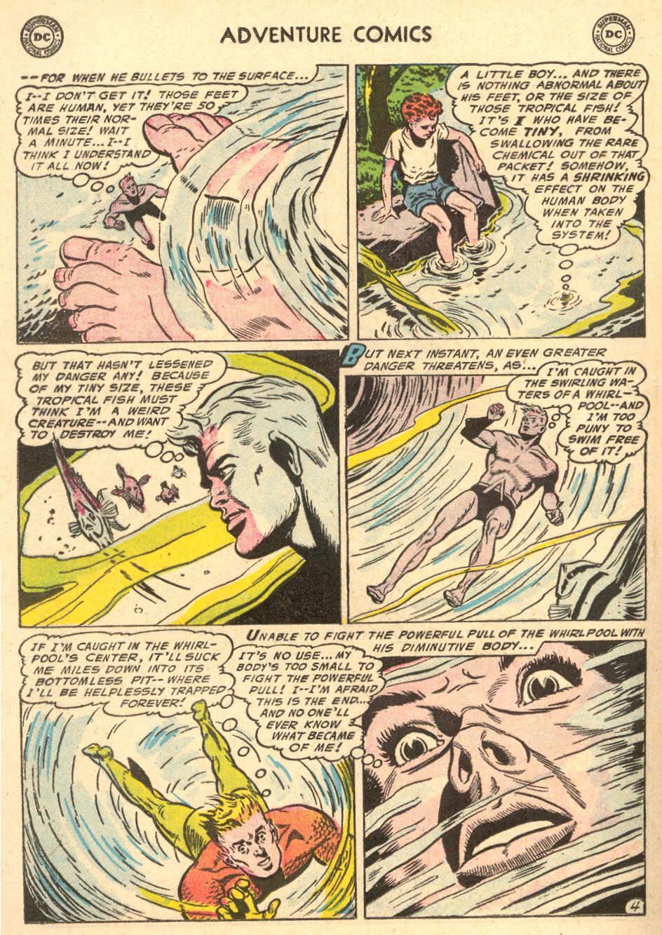 Read online Adventure Comics (1938) comic -  Issue #212 - 20