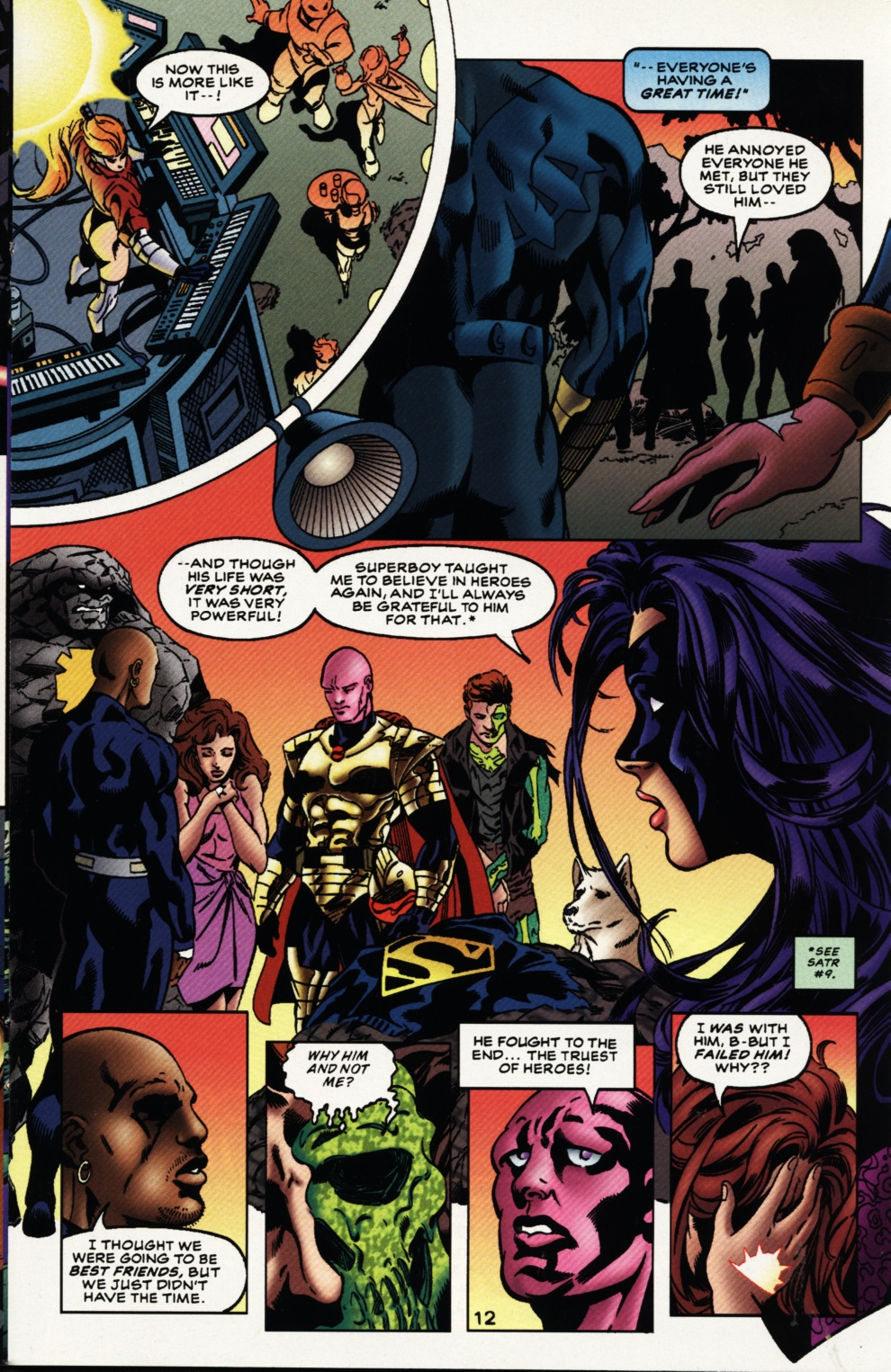 Read online Superboy & The Ravers comic -  Issue #11 - 13