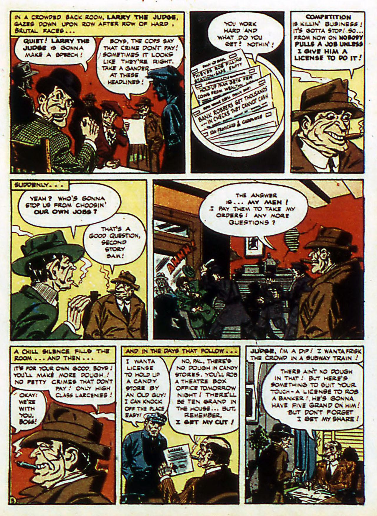 Read online Detective Comics (1937) comic -  Issue #72 - 6