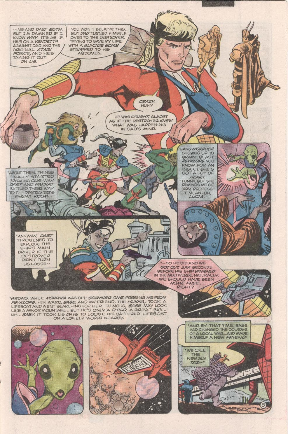 Read online Atari Force (1984) comic -  Issue #9 - 9