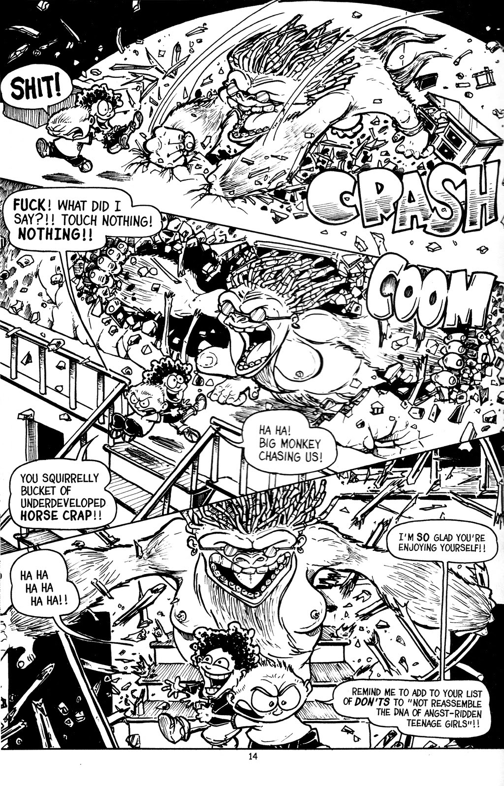 Read online The Adventures of Barry Ween, Boy Genius 3: Monkey Tales comic -  Issue #4 - 16