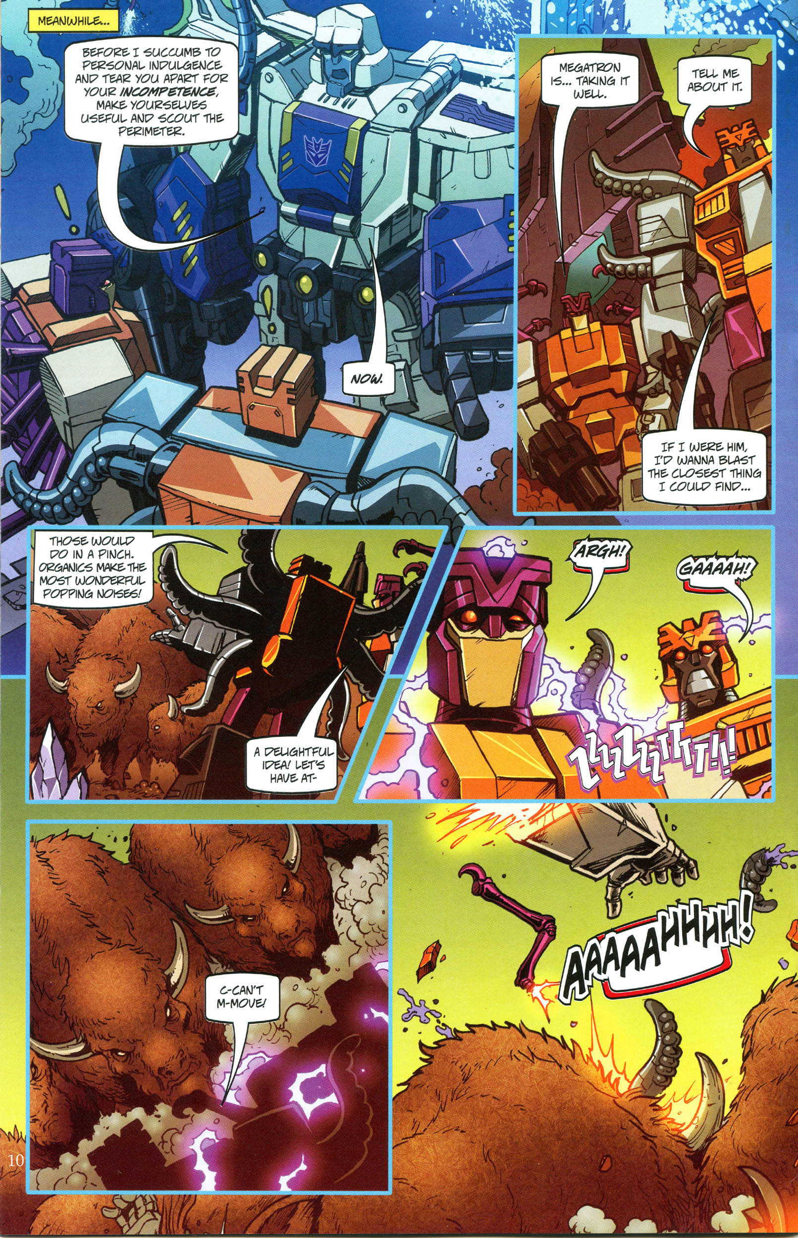 Read online Transformers: Collectors' Club comic -  Issue #49 - 10