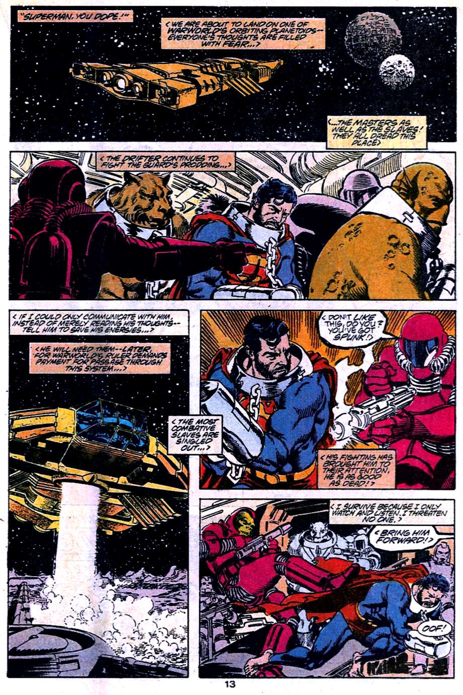 Read online Adventures of Superman (1987) comic -  Issue #454 - 14