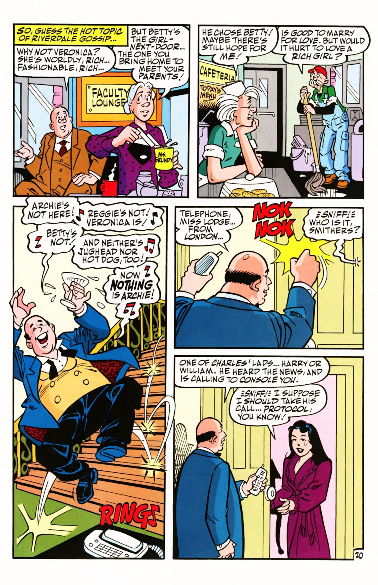 Read online Archie (1960) comic -  Issue #603 - 28